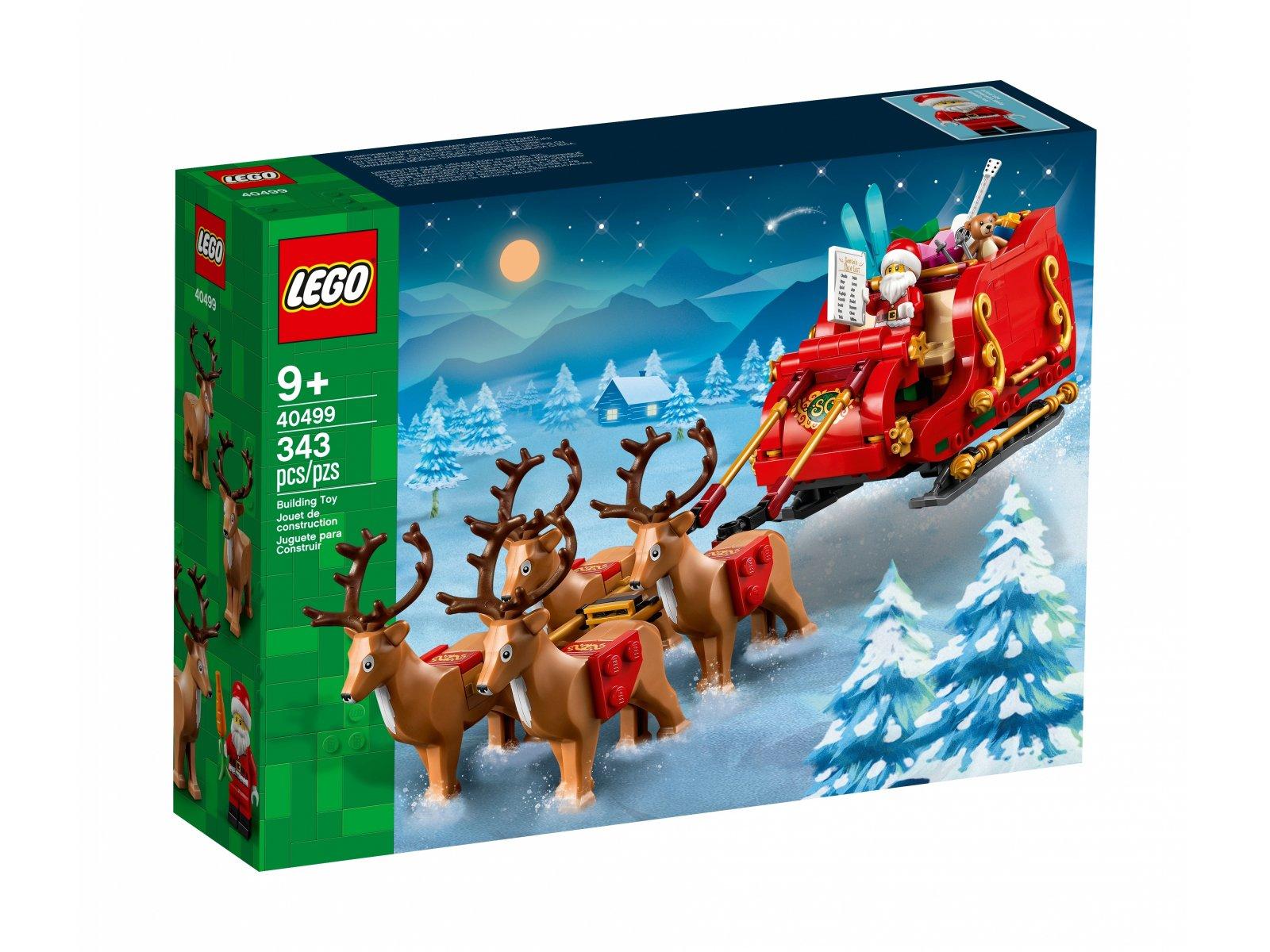 LEGO Sanie Świętego Mikołaja 40499