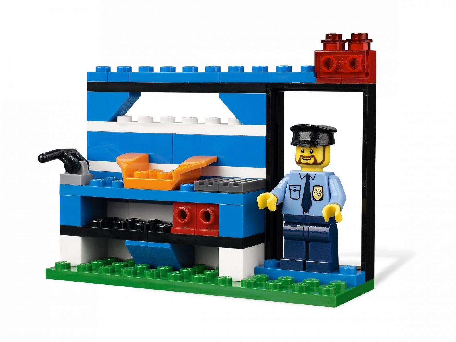 Lego 4636 Policja Zestaw Budowlany Zklockówpl