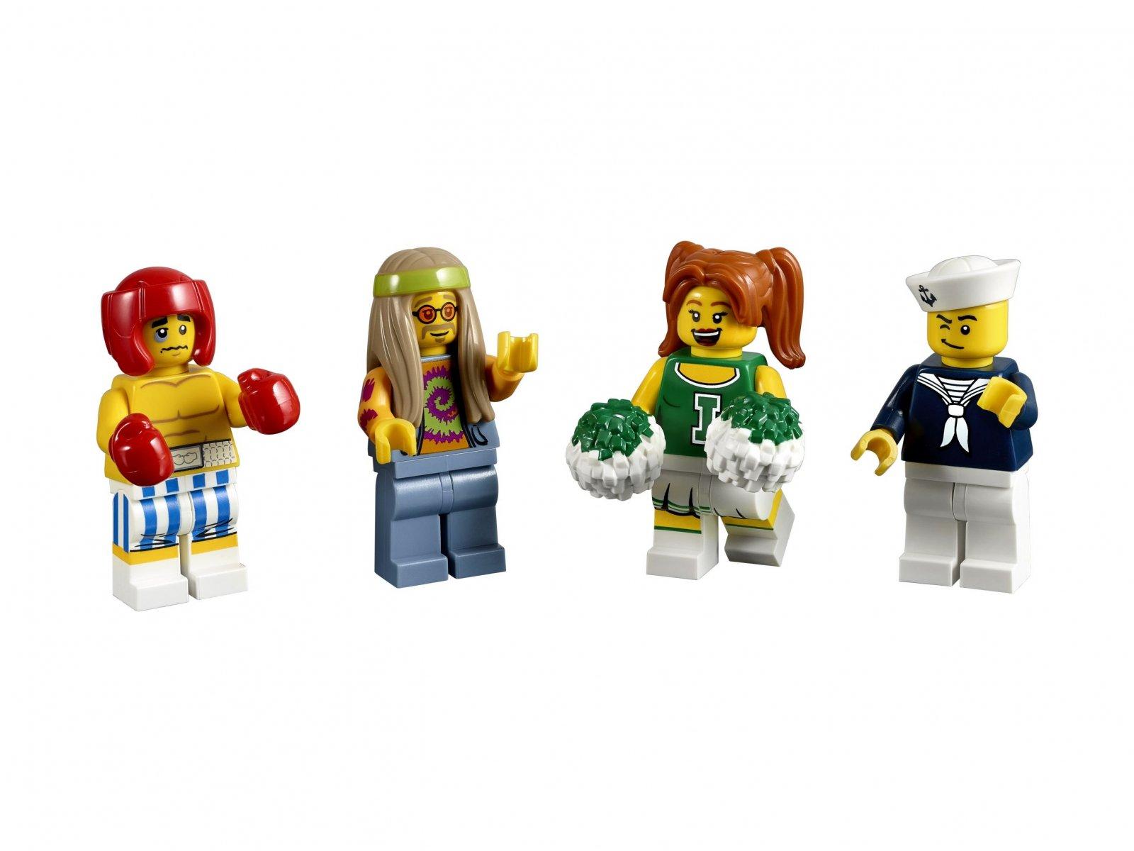 LEGO 5004941 Bricktober - zestaw minifigurek