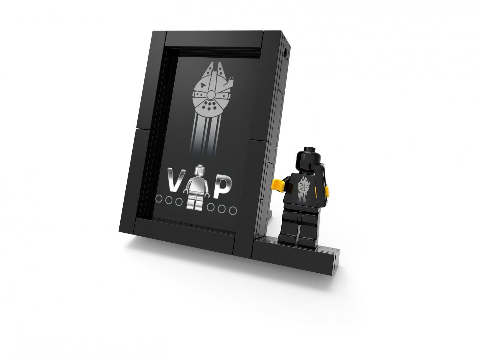 LEGO 5005747 Zestaw LEGO® Stojak ekspozycyjny na Czarna karte