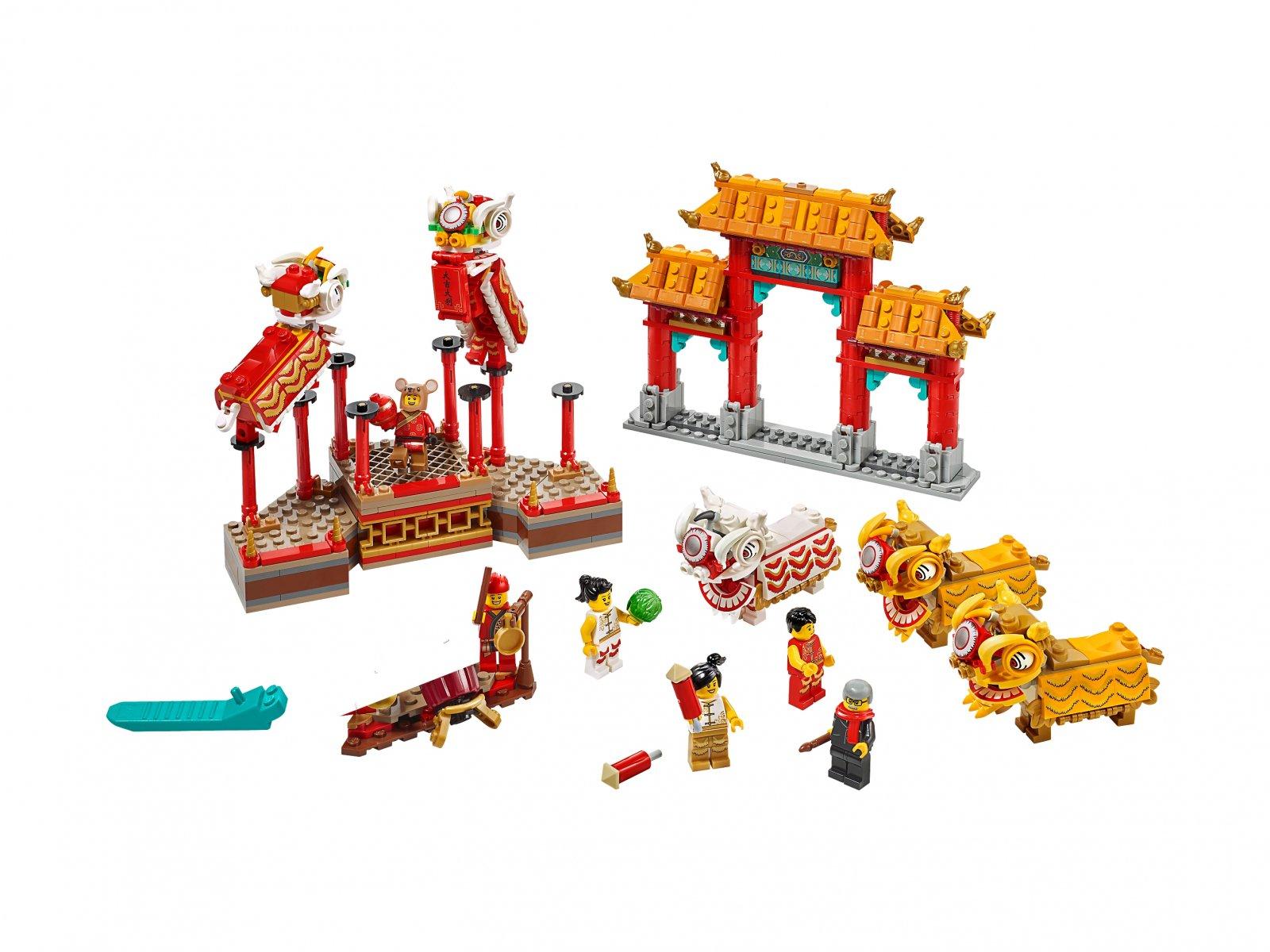 LEGO 80104 Taniec lwa