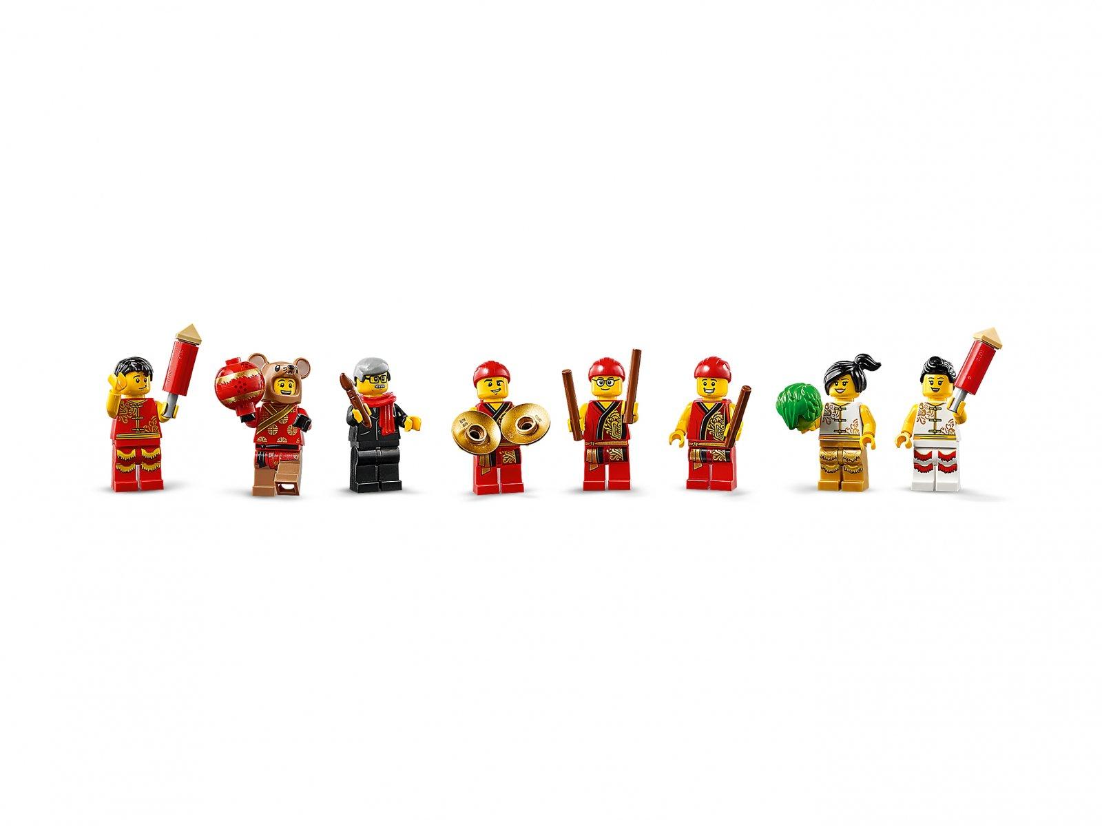 LEGO Taniec lwa 80104