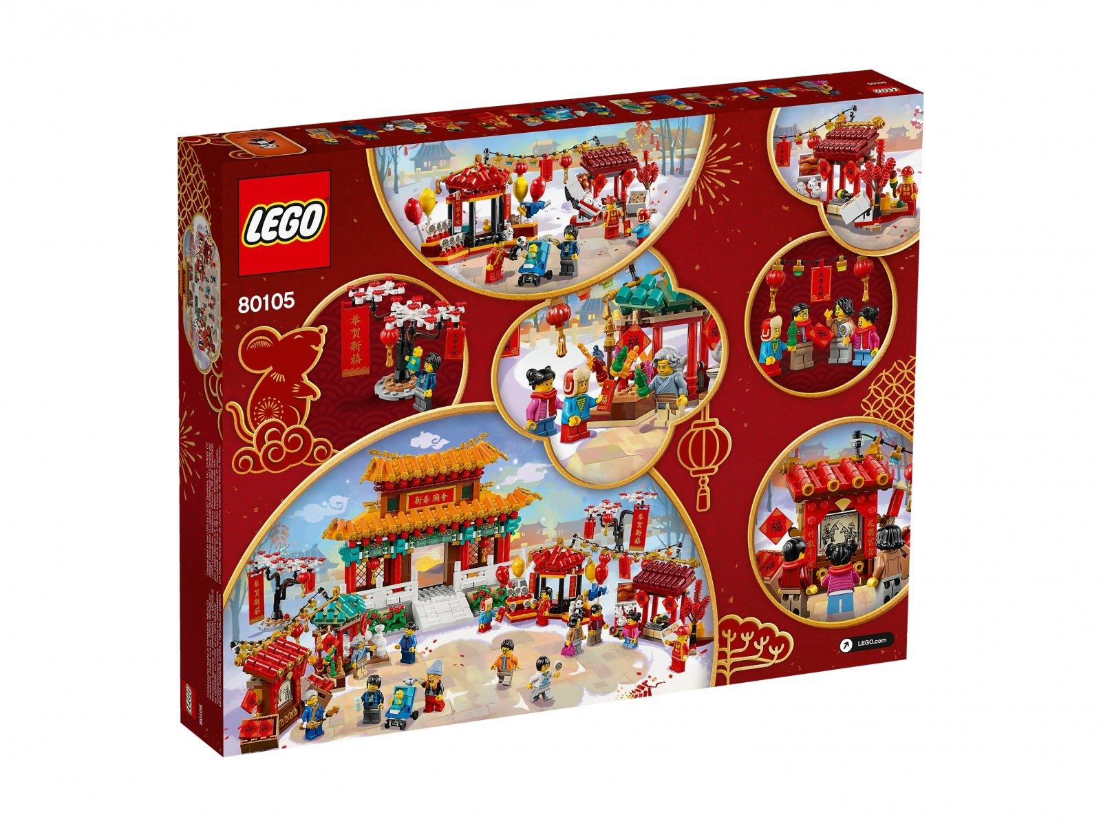LEGO 80105 Chiński jarmark noworoczny