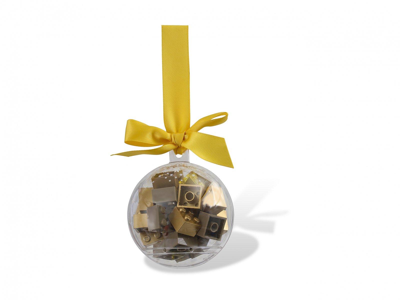 LEGO 853345 Ozdoba świąteczna ze złotymi klockami