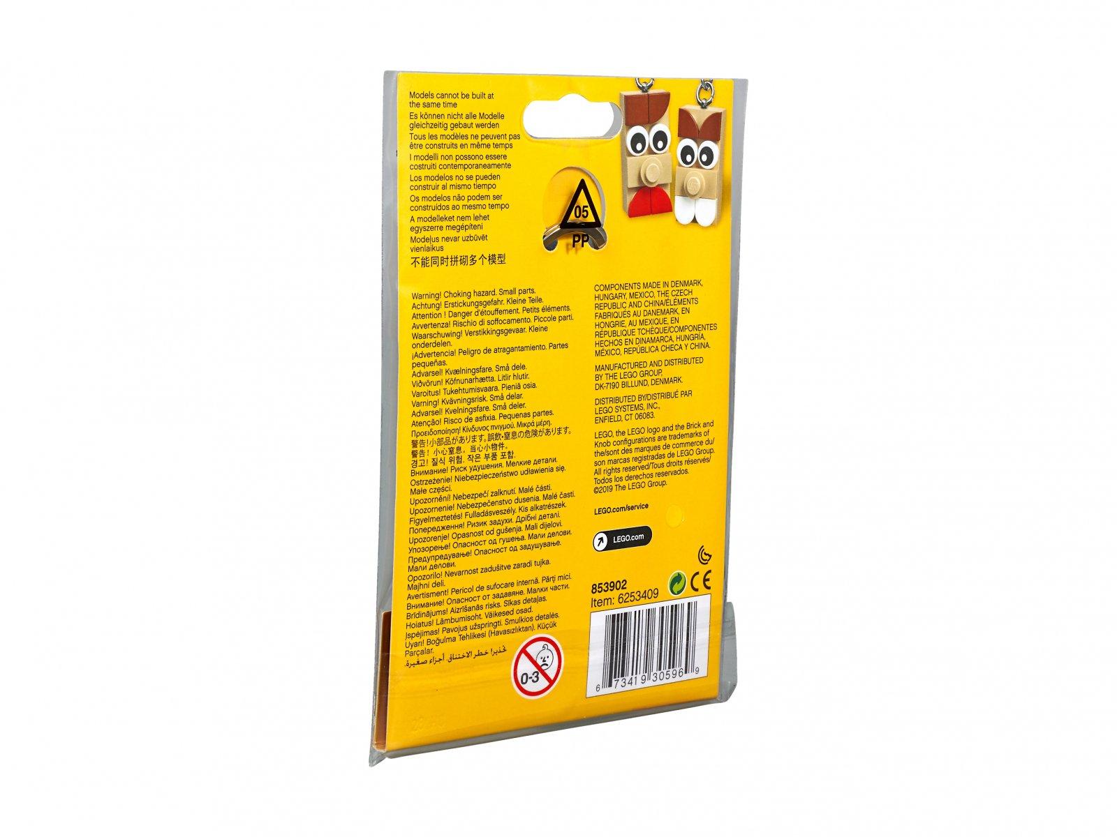 LEGO 853902 Pomysłowy breloczek LEGO®