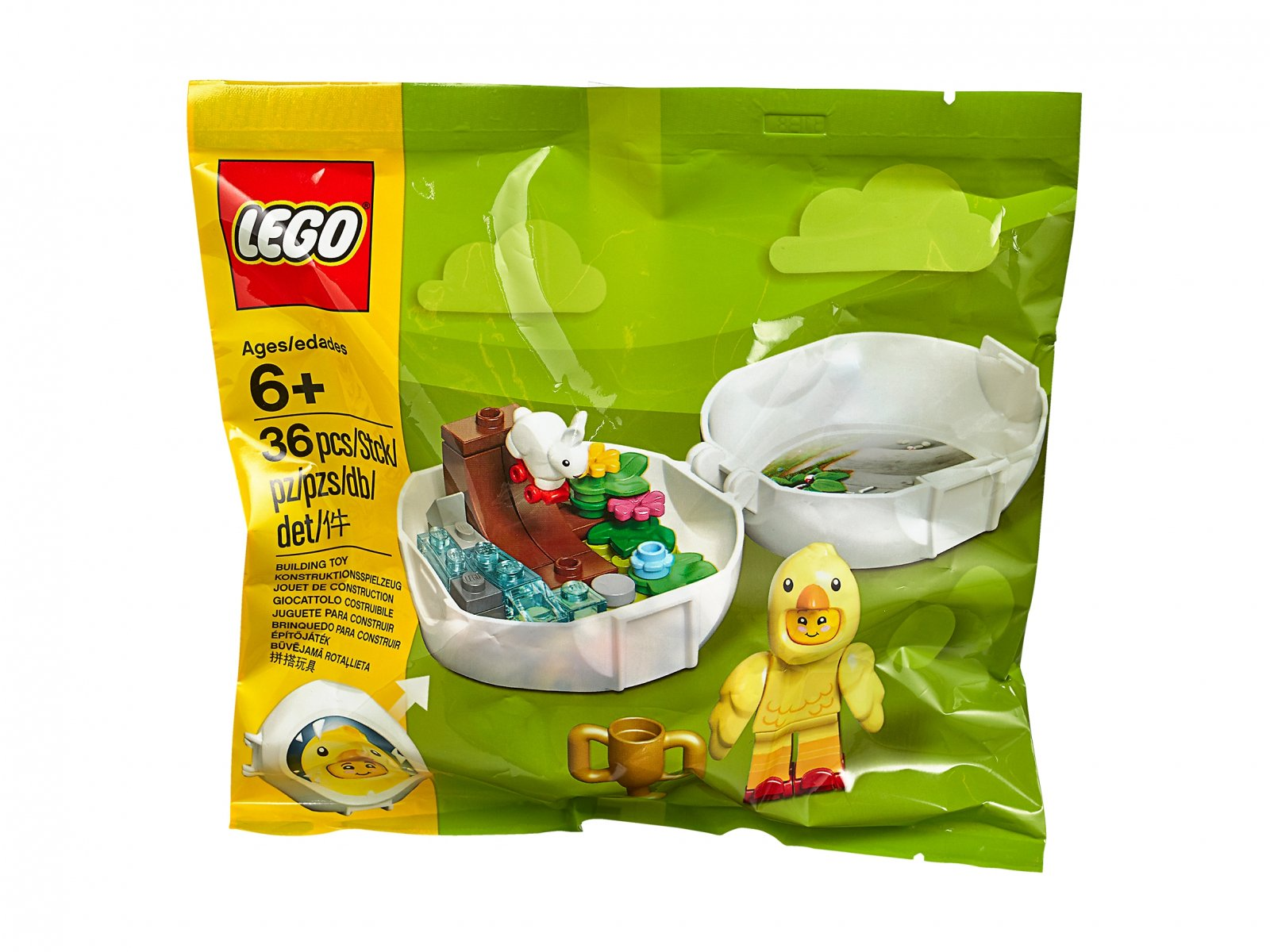 LEGO Kurczak na rolkach 853958