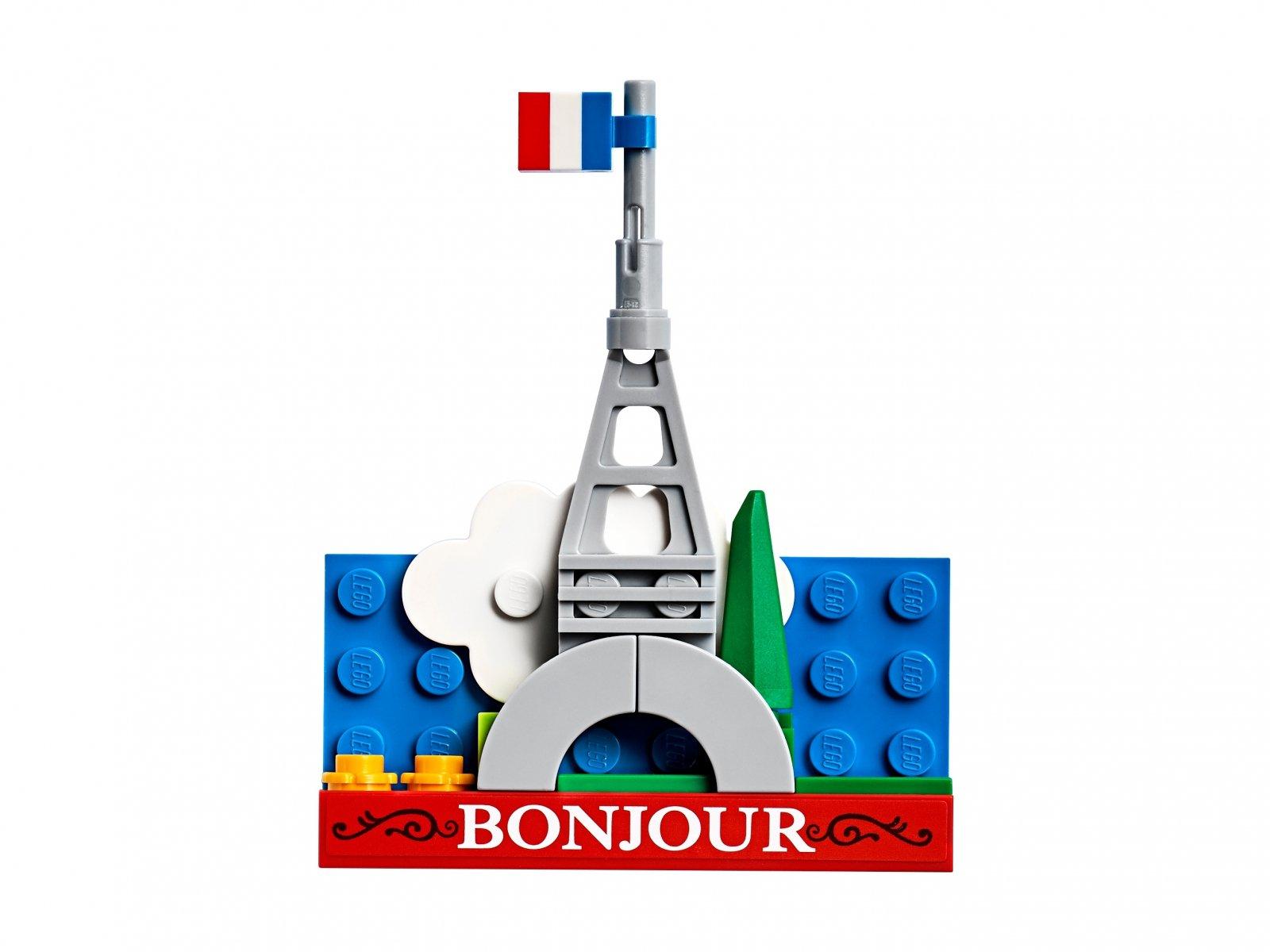 LEGO 854011 Magnes z Wieżą Eiffla do złożenia