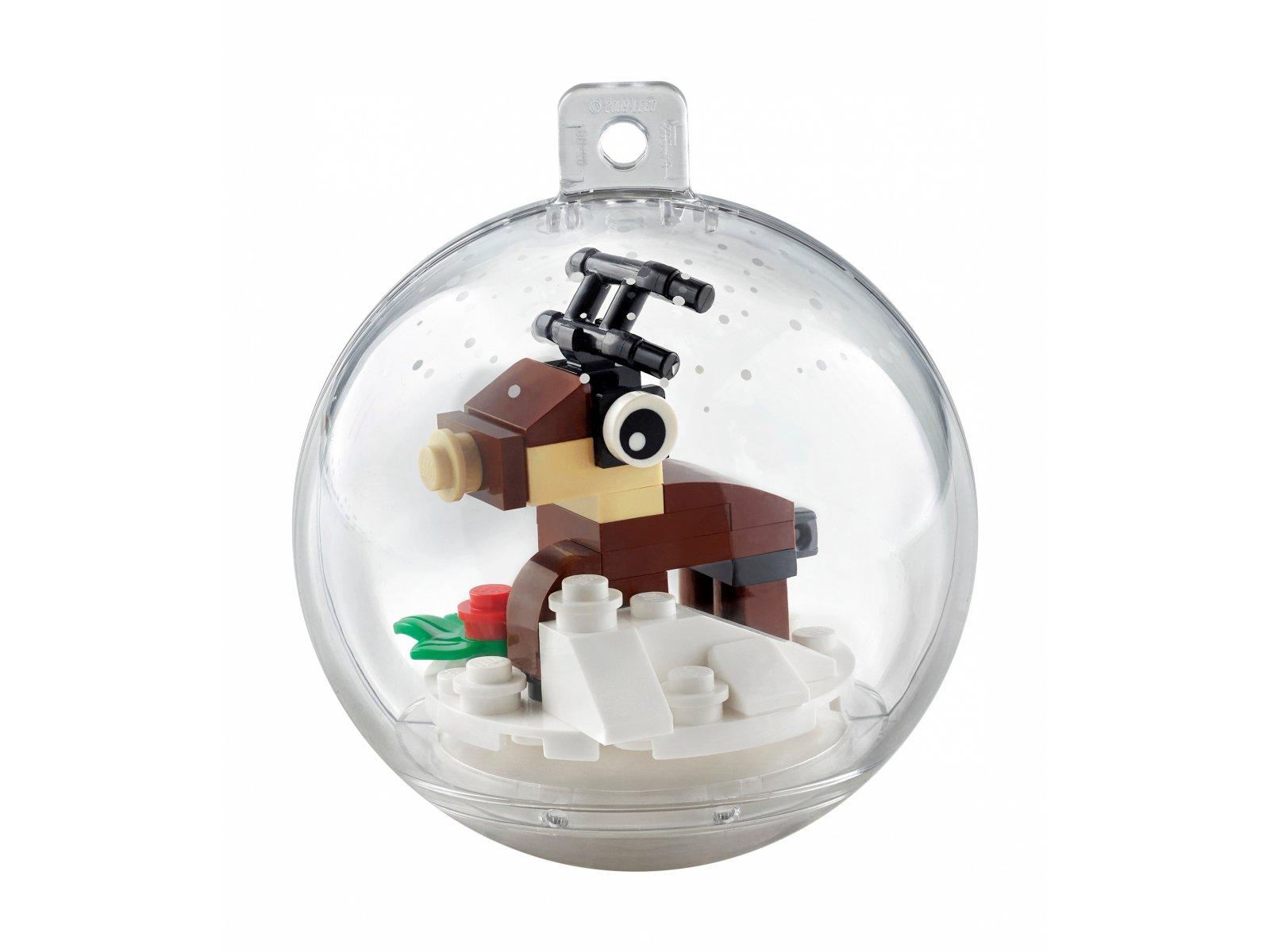 LEGO 854038 Świąteczna bombka z reniferem