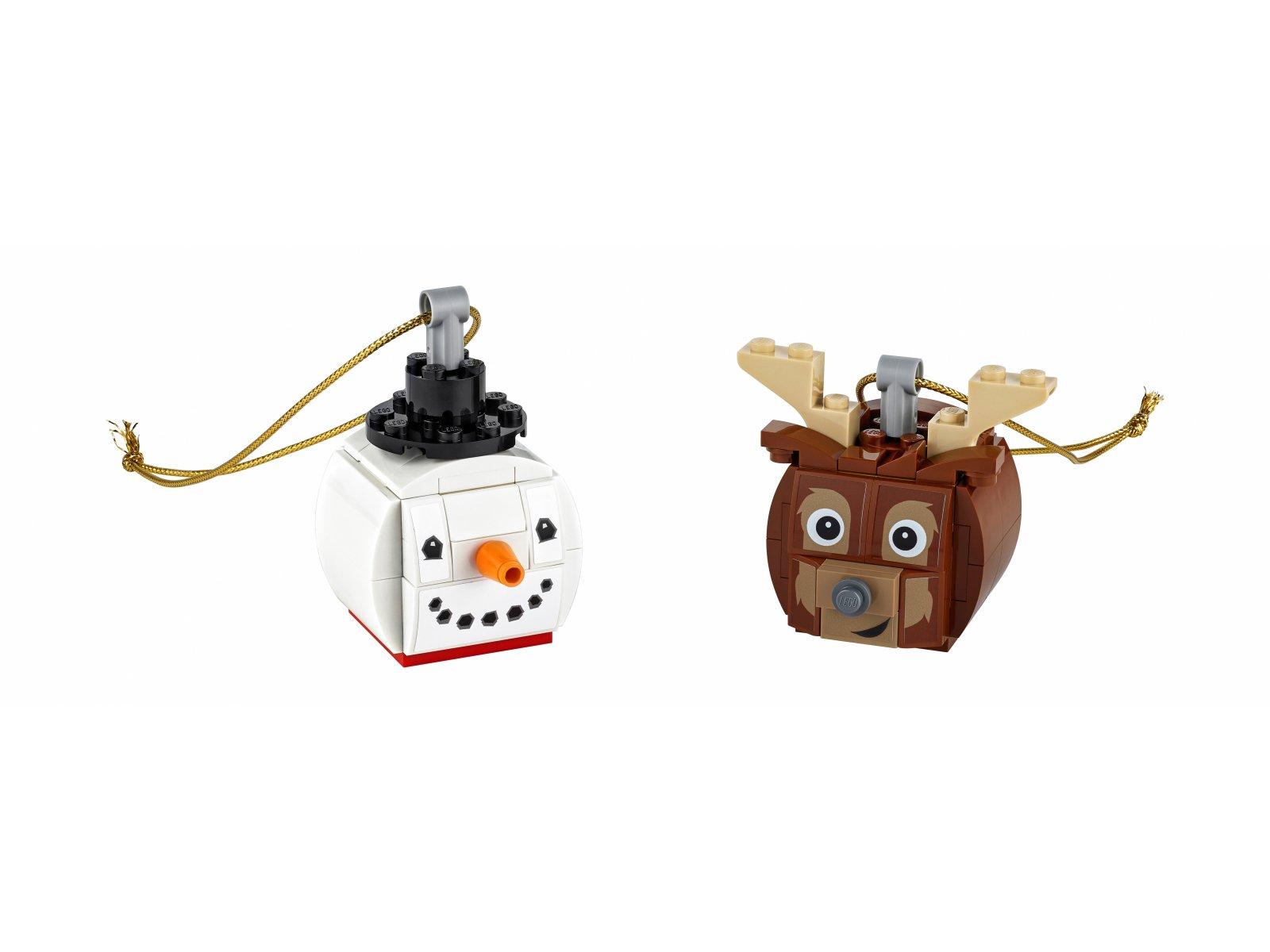 LEGO 854050 Bałwanek i renifer
