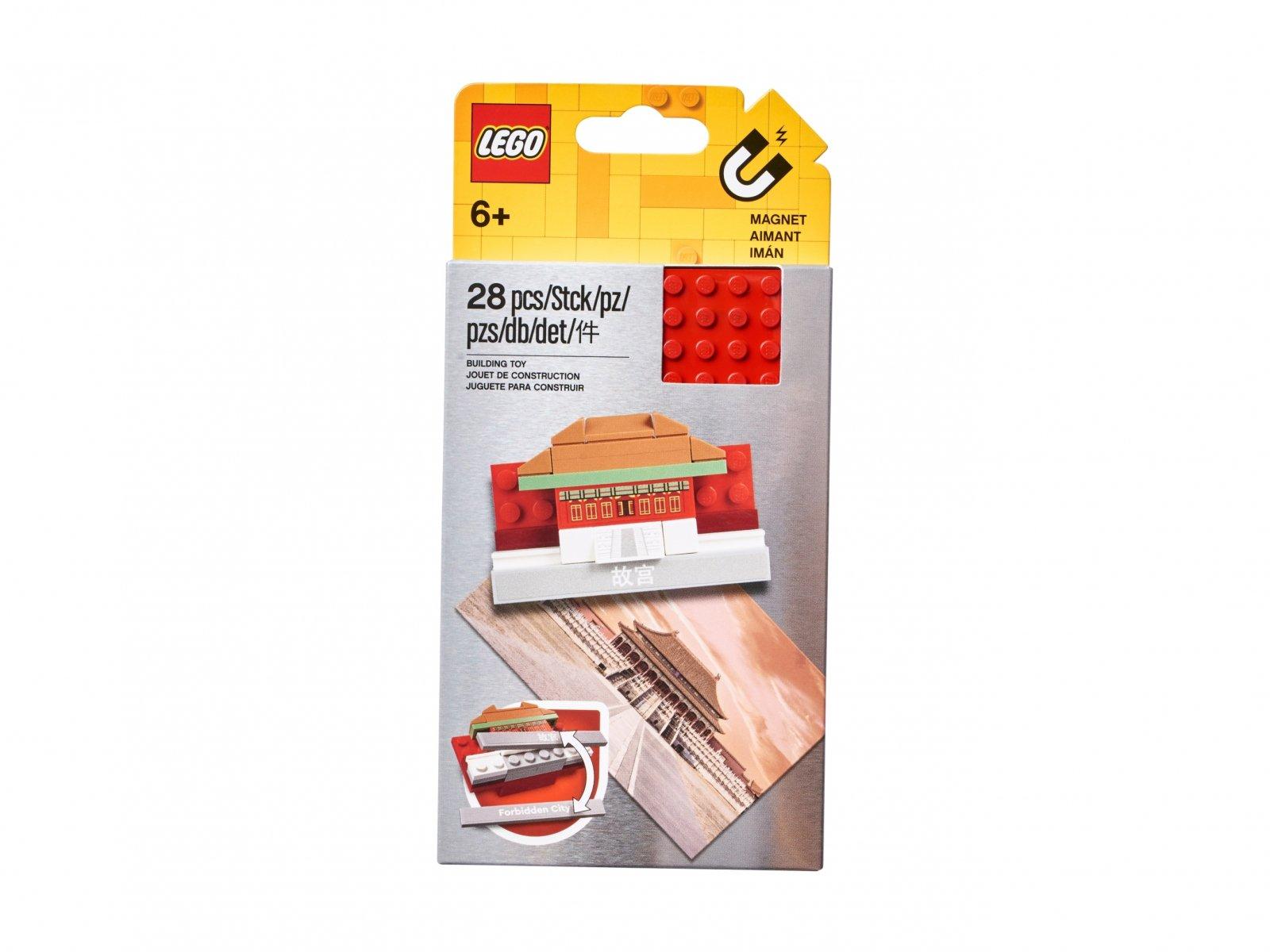 LEGO Magnes z Zakazanym Miastem do złożenia 854088