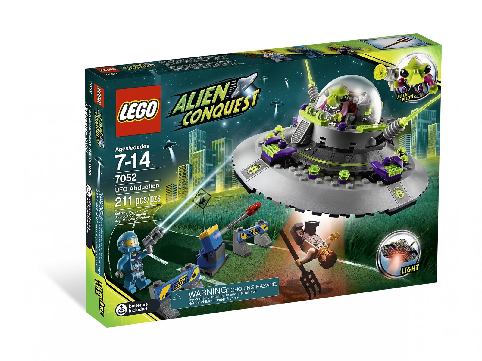 LEGO Alien Conquest UFO Abduction 7052