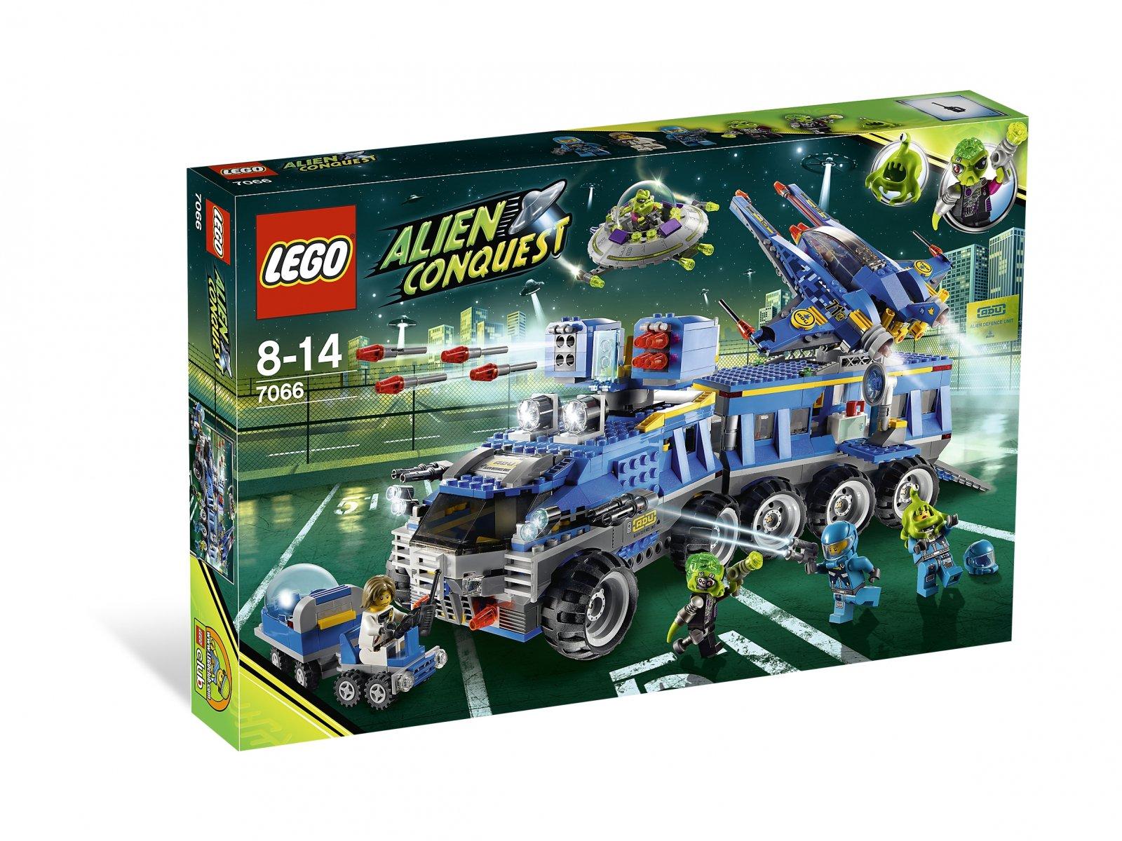 LEGO 7066 Alien Conquest Earth Defense HQ