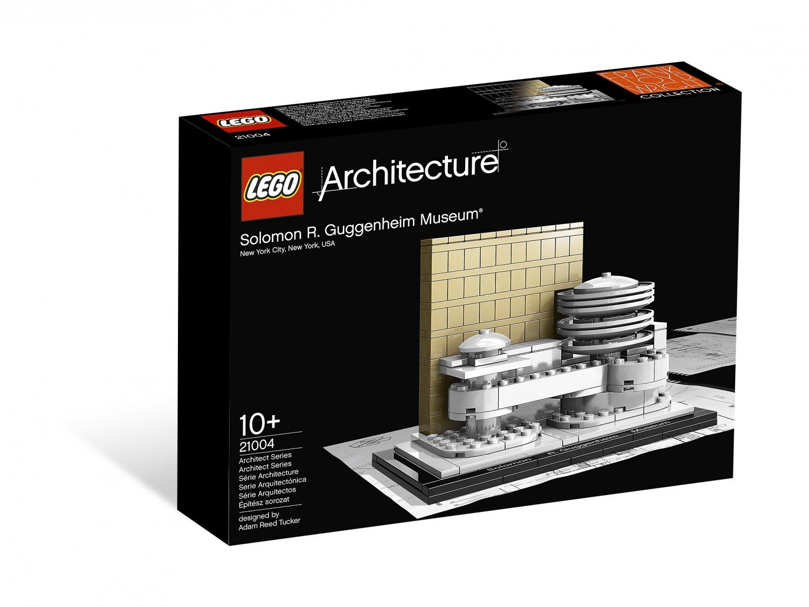 LEGO Architecture Solomon R. Guggenheim Museum® 21004
