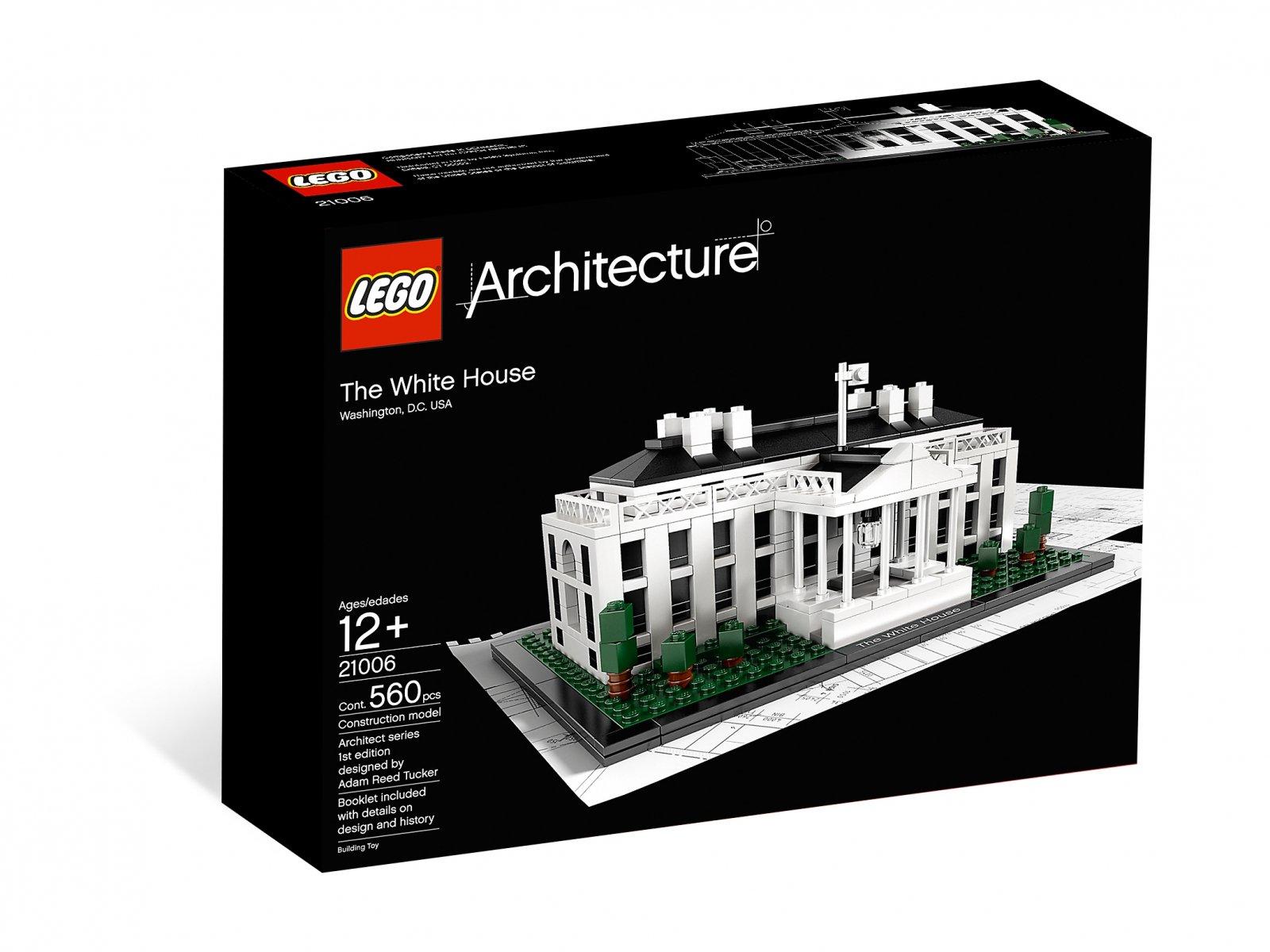 LEGO Architecture 21006 Biały Dom