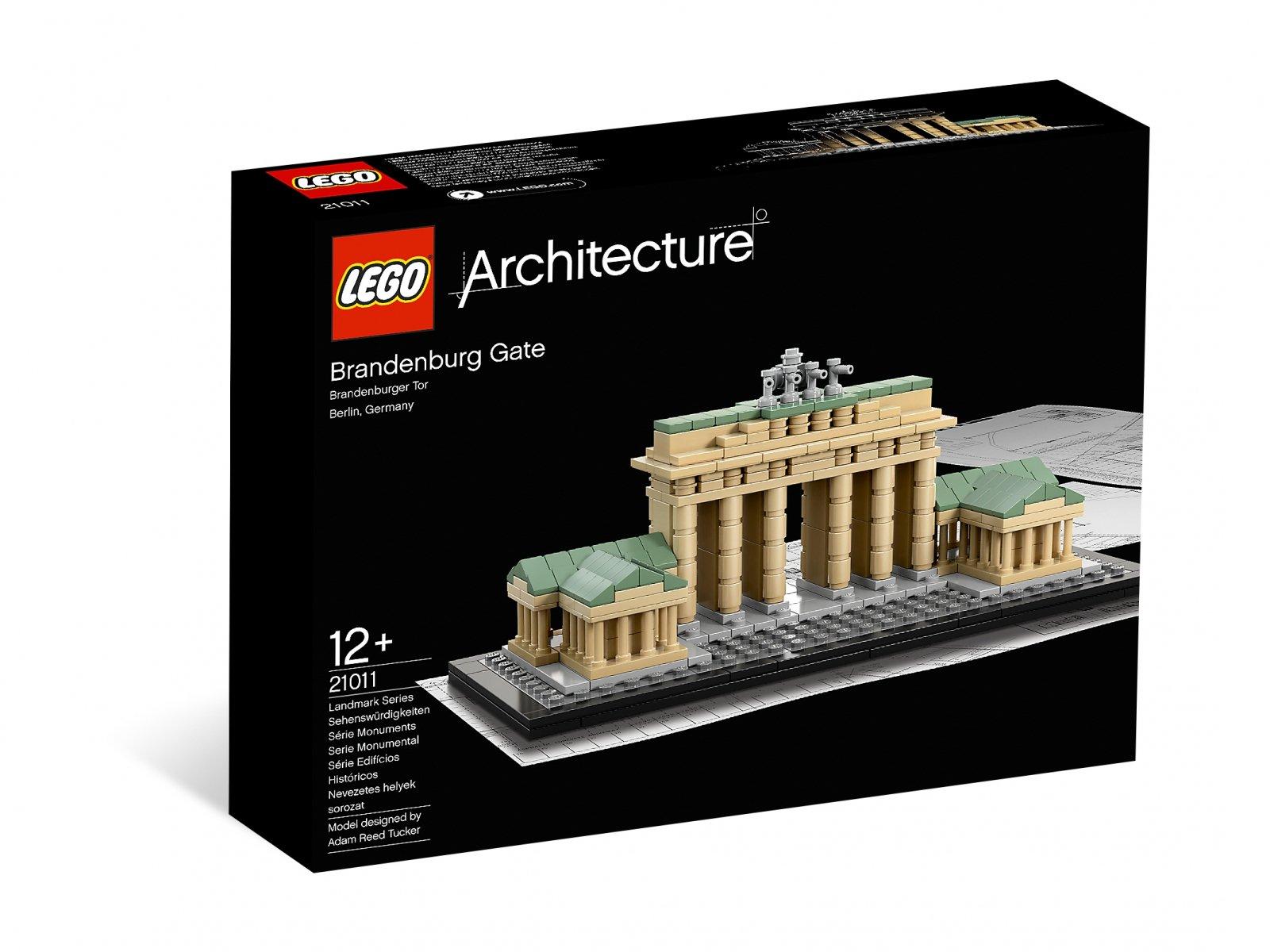 LEGO 21011 Brama Brandenburska