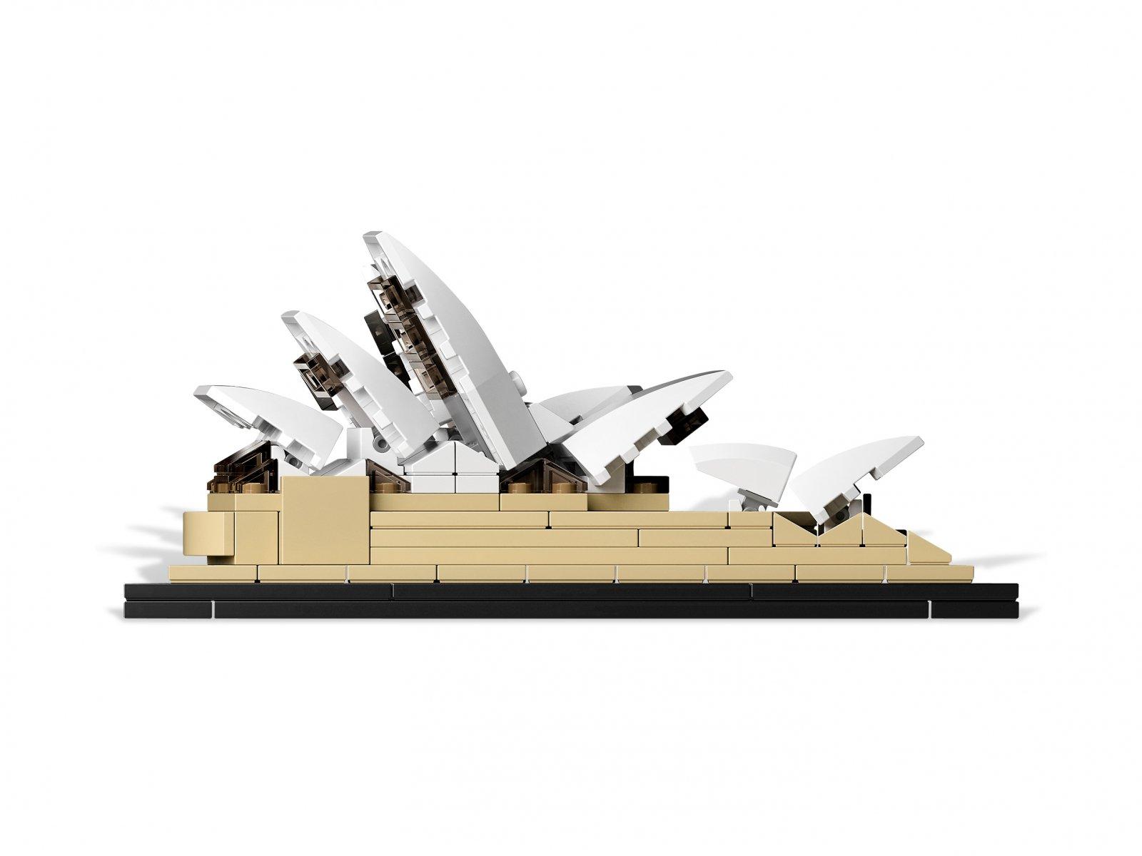 LEGO Architecture 21012 Gmach opery w Sydney
