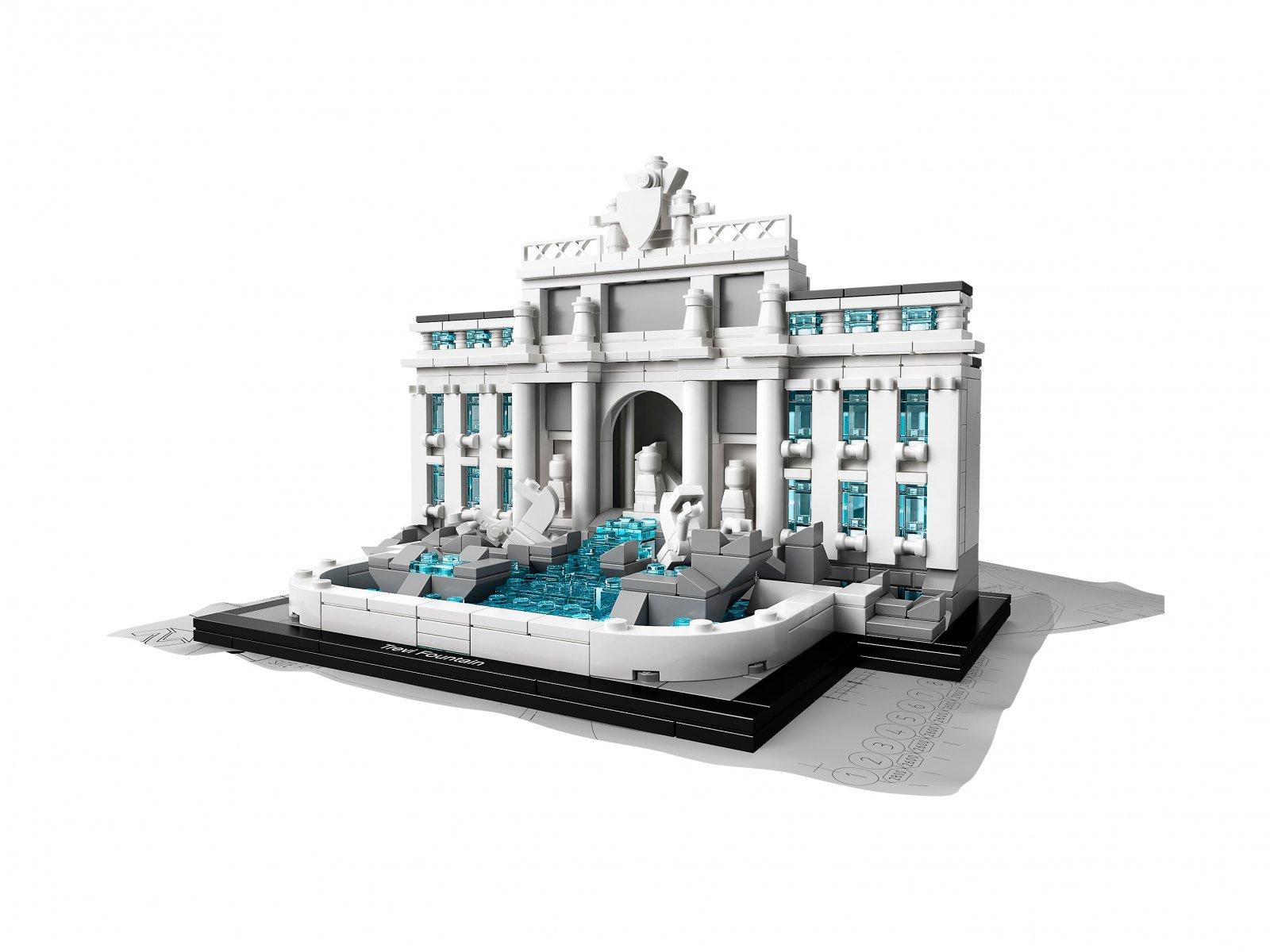 LEGO Architecture 21020 Fontanna di Trevi
