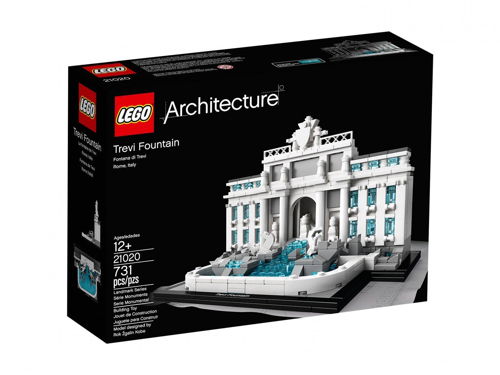 LEGO Architecture Fontanna di Trevi