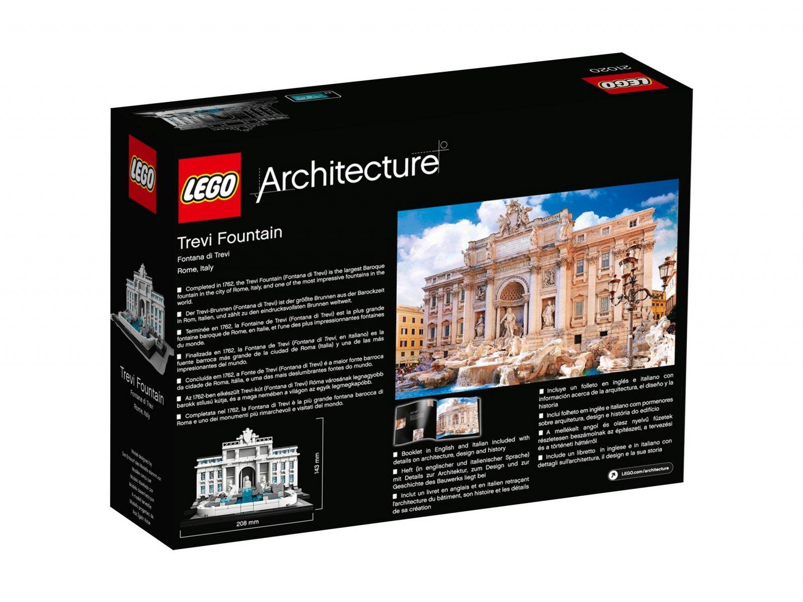 LEGO 21020 Fontanna di Trevi