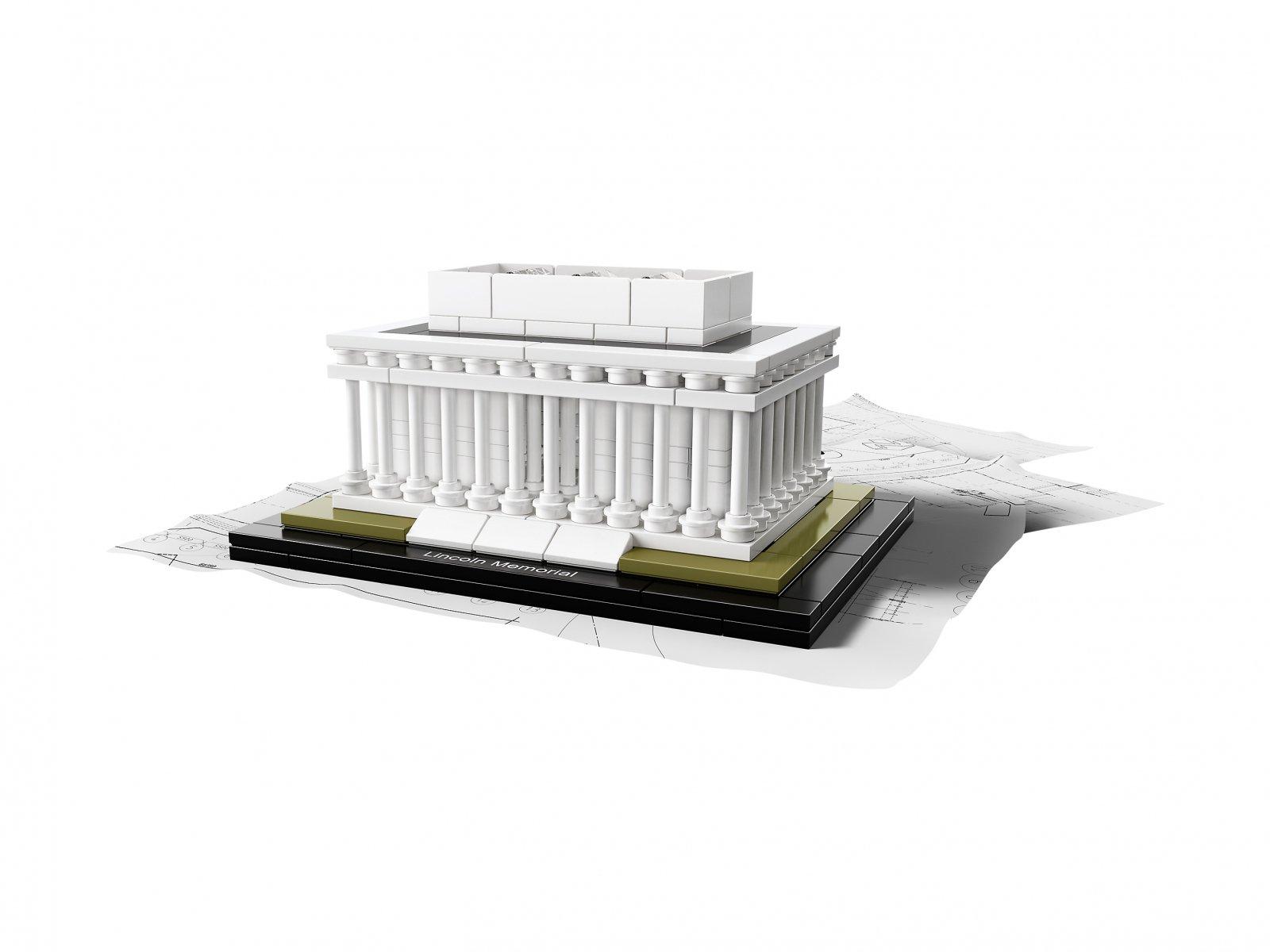 LEGO Architecture 21022 Mauzoleum Lincolna