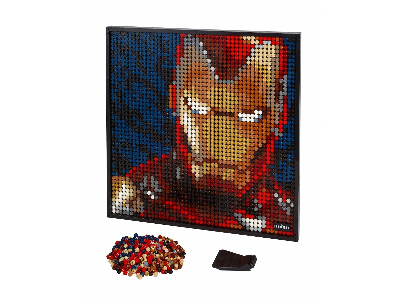 LEGO 31199 Iron Man z wytwórni Marvel Studios