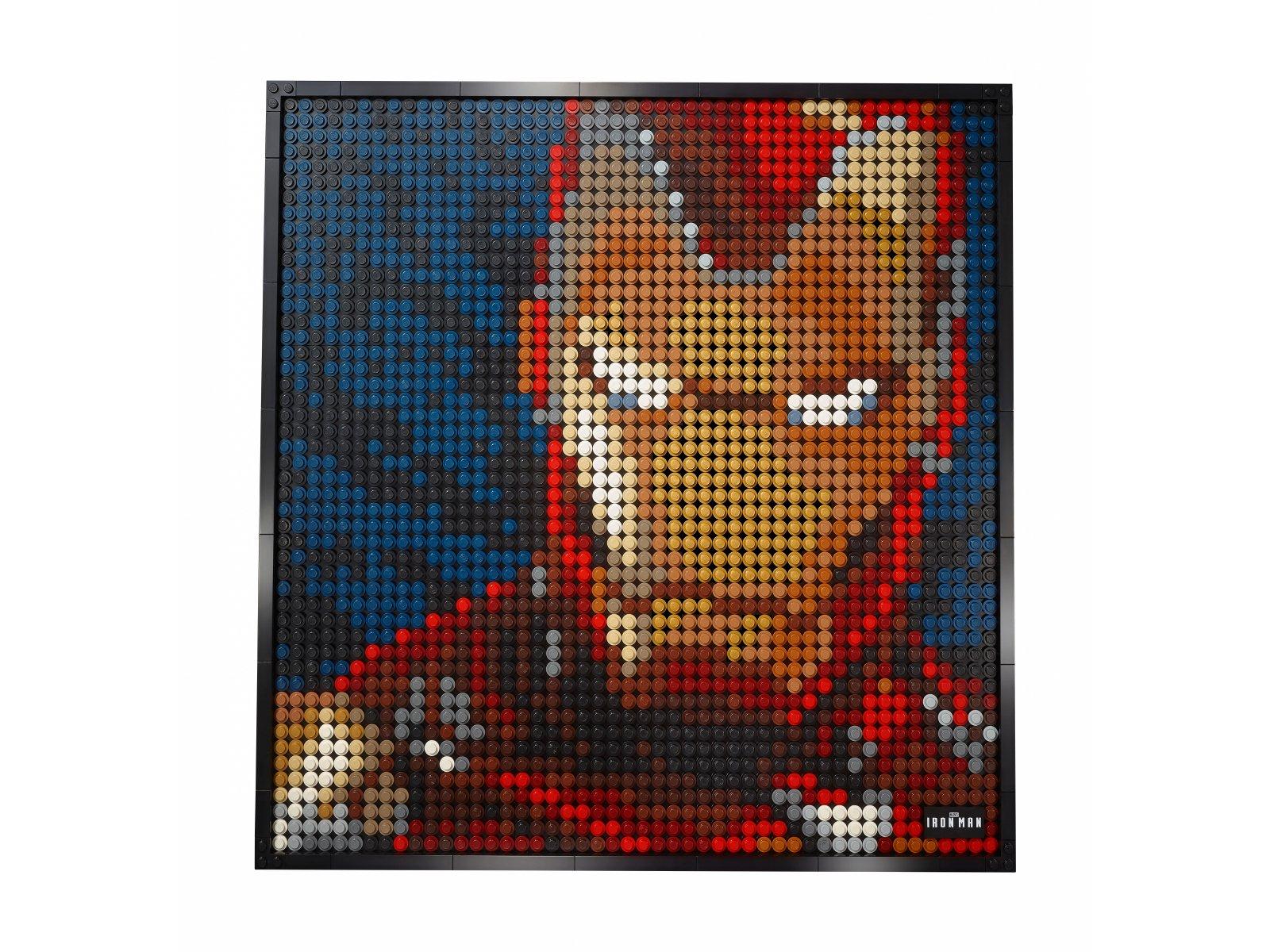 LEGO Art Iron Man z wytwórni Marvel Studios 31199