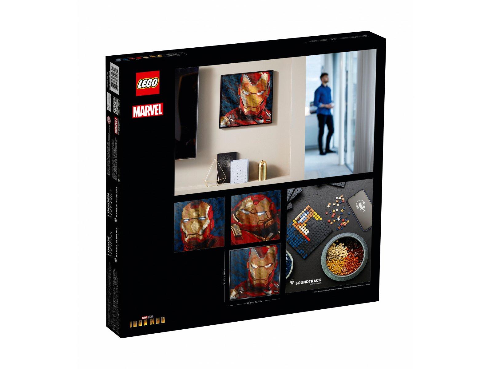 LEGO 31199 Art Iron Man z wytwórni Marvel Studios