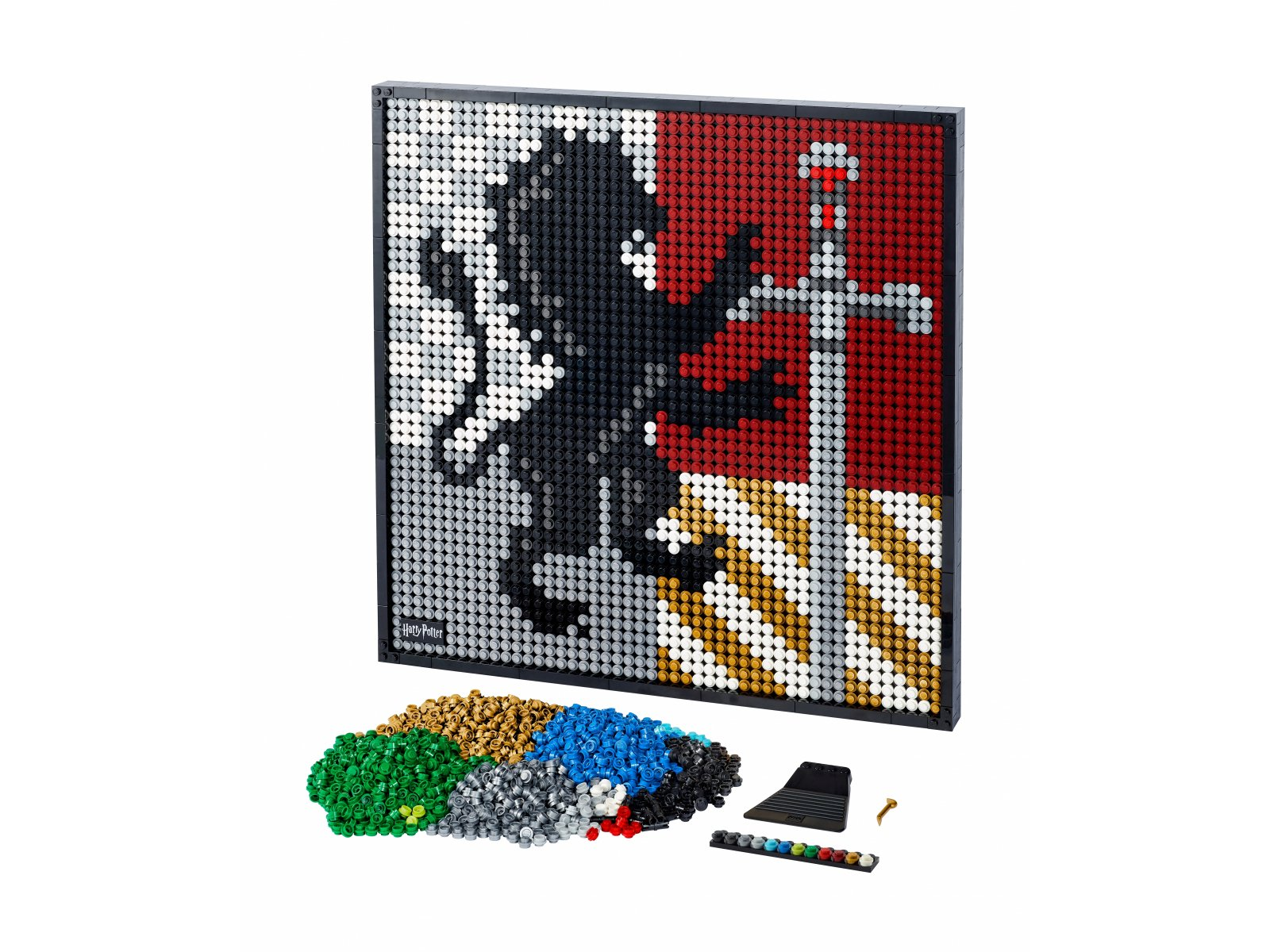 LEGO Art Harry Potter™ Herby Hogwartu™ 31201