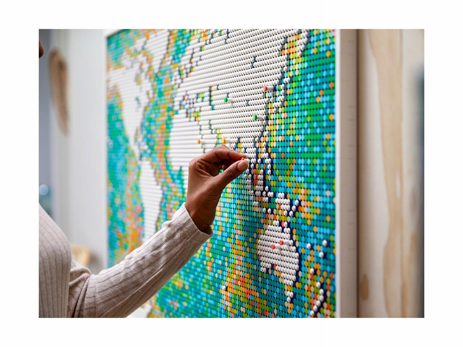 LEGO 31203 Mapa świata