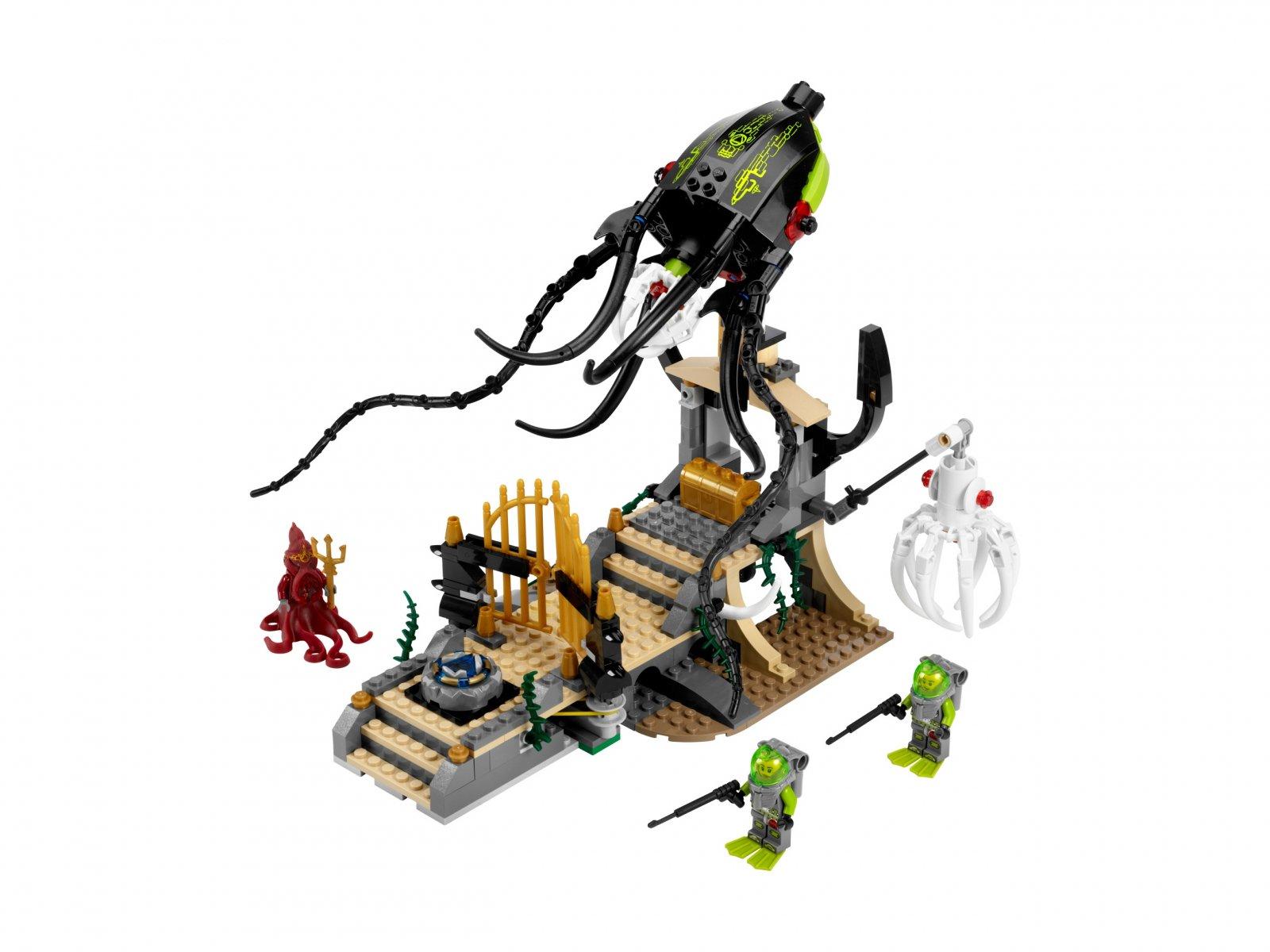 LEGO 8061 Atlantis Spotkanie z kałamarnicą