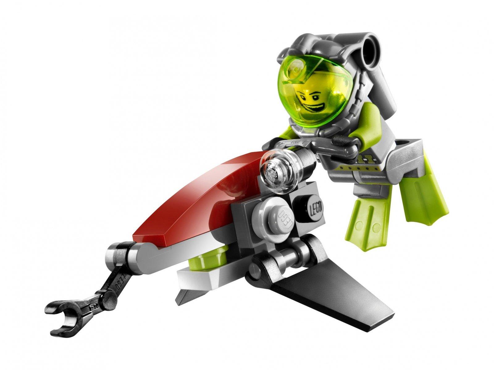 LEGO 8072 Atlantis Morski odrzutowiec