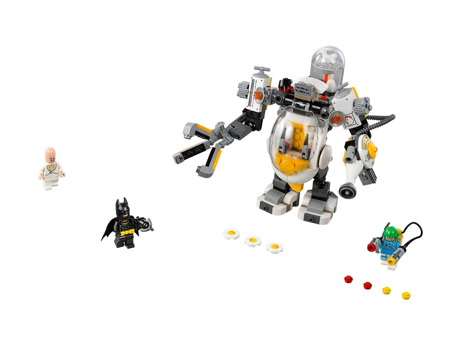 LEGO Batman Movie 70920 Mech Eggheada i bitwa na jedzenie