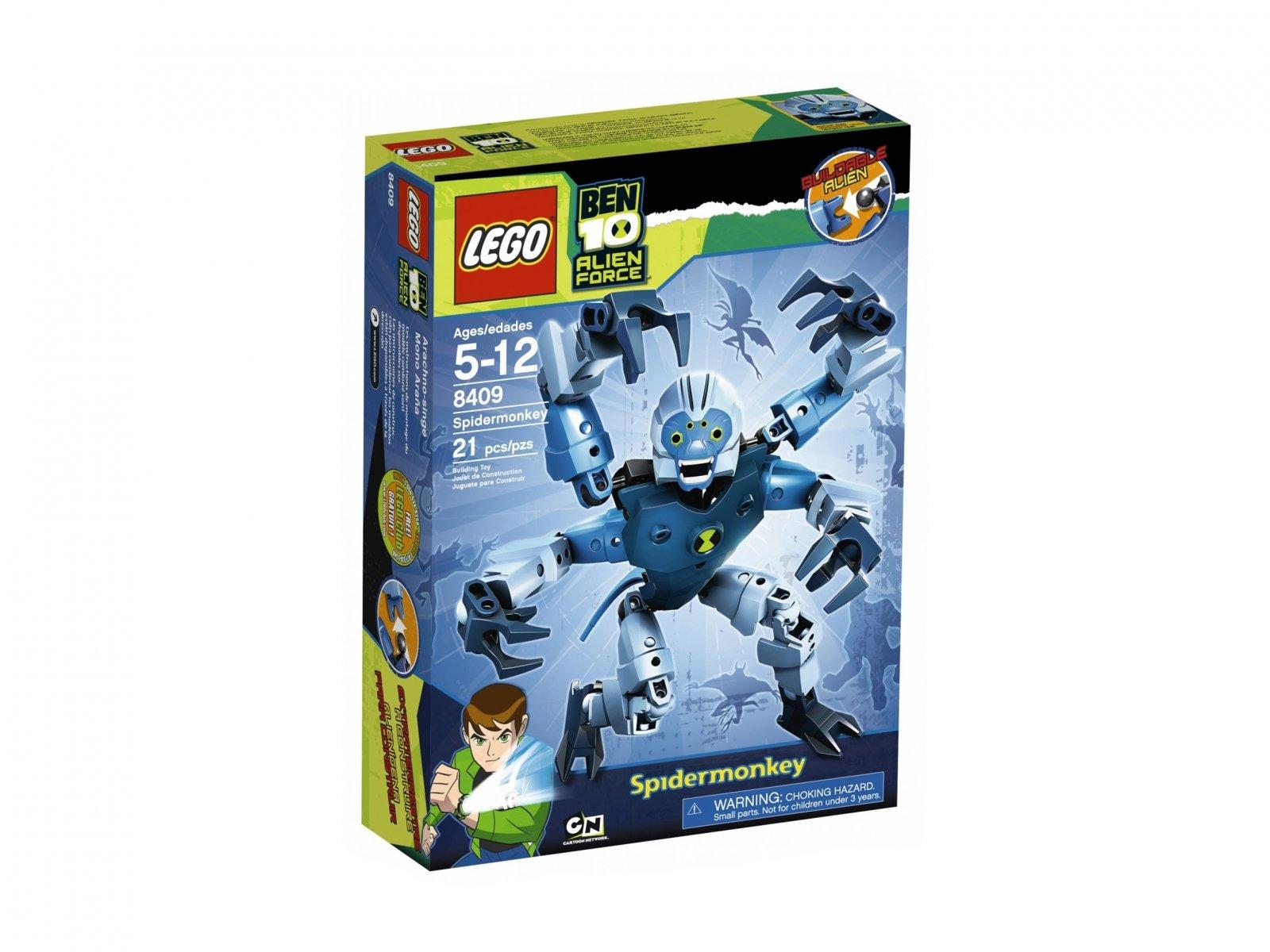 LEGO Ben 10 Alien Force™ Pajęczarz 8409