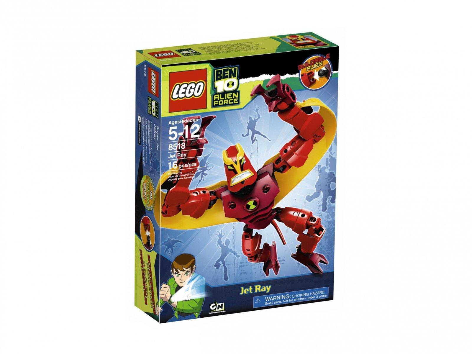LEGO Ben 10 Alien Force™ 8518 Dżetrej
