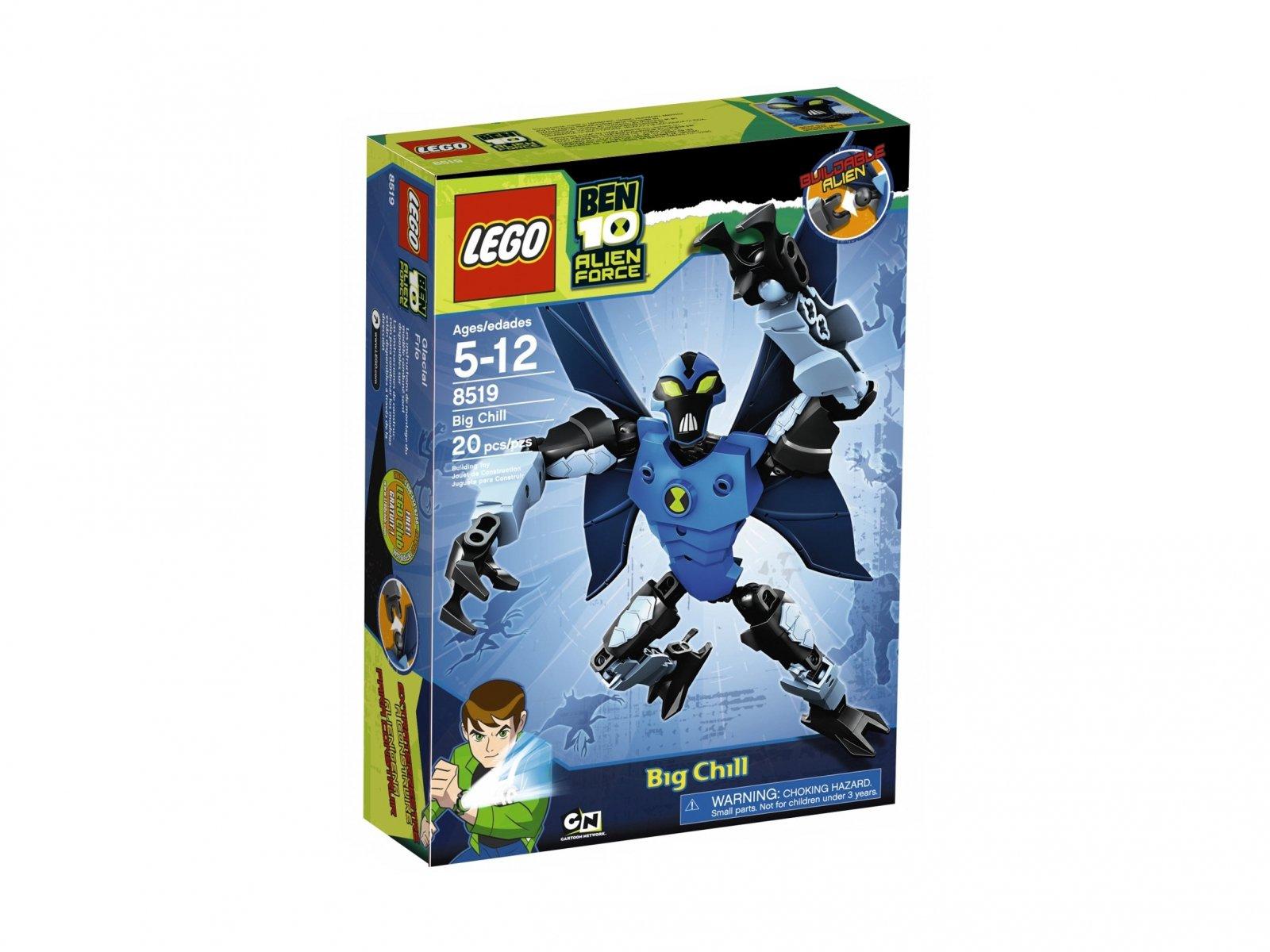LEGO 8519 Ben 10 Alien Force™ Ziąb