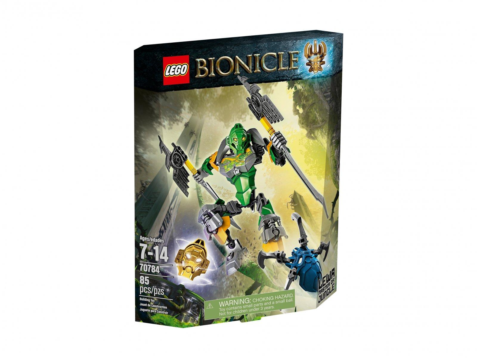 LEGO 70784 Lewa – Władca Dżungli