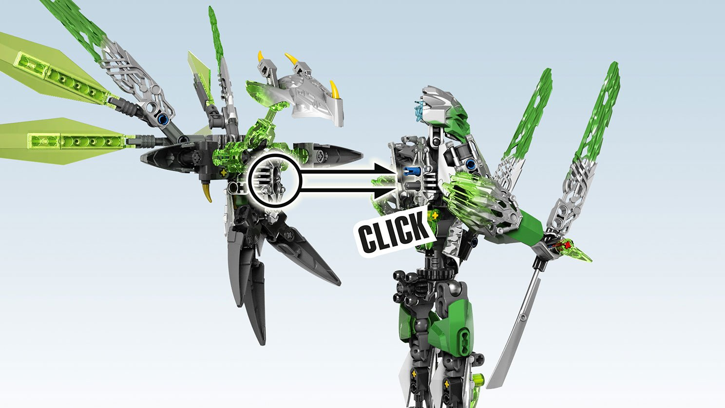 LEGO 71300 Bionicle® Uxar - istota z dżungli
