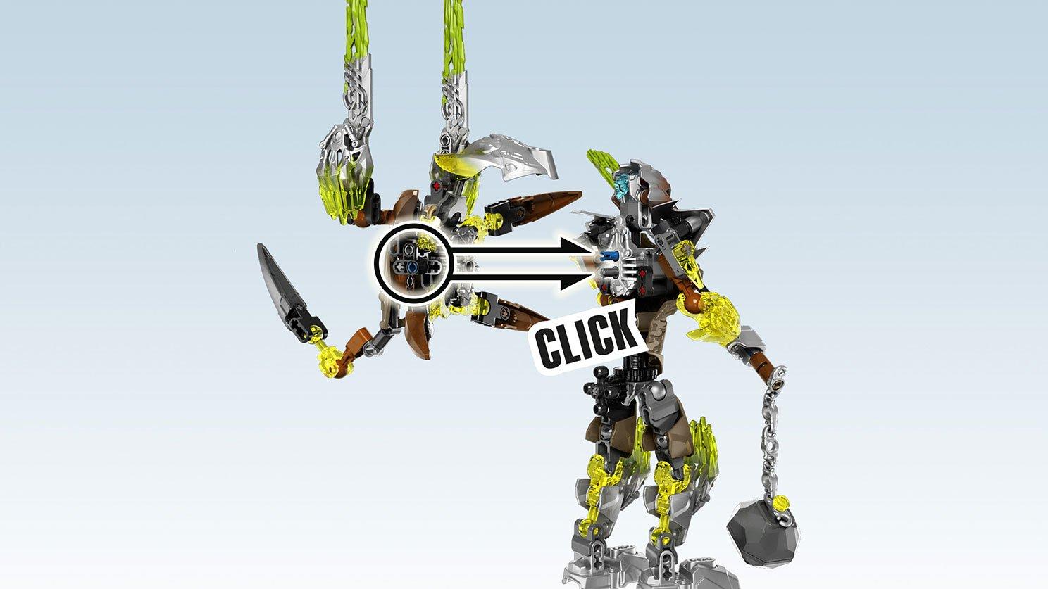 LEGO 71306 Bionicle® Pohatu - zjednoczyciel kamienia