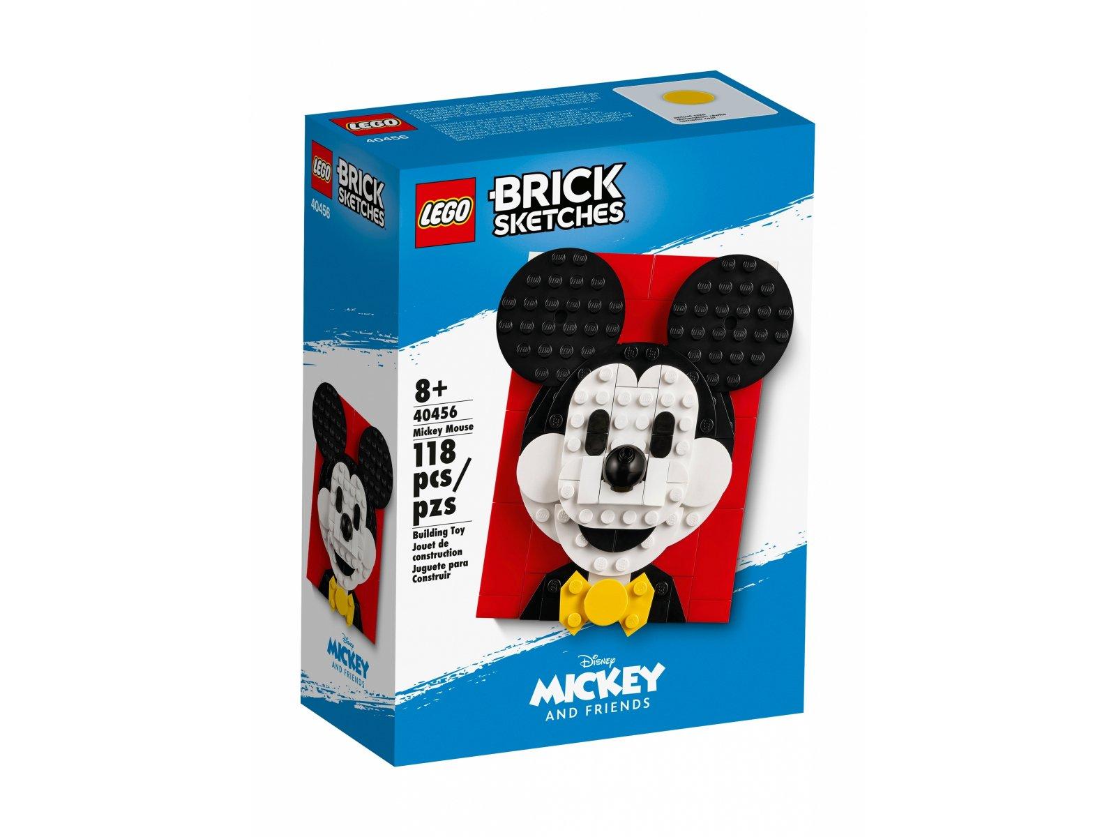 LEGO Brick Sketches Myszka Miki 40456