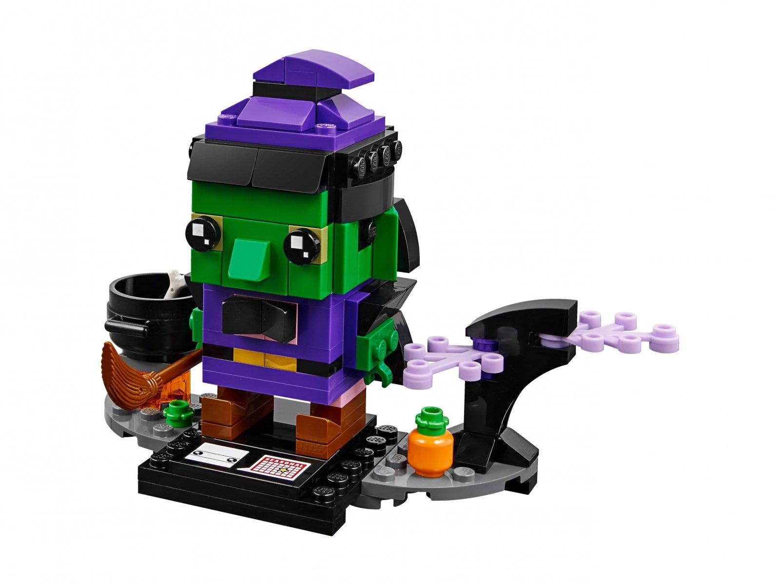 LEGO BrickHeadz Wiedźma na Halloween