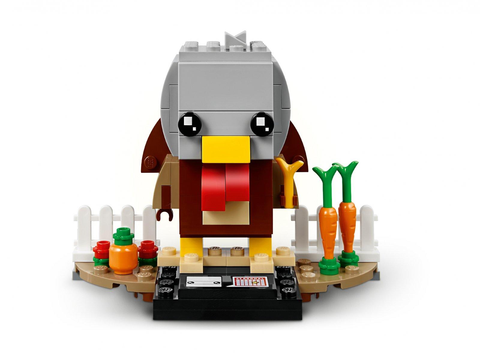 LEGO 40273 BrickHeadz Indyk na Święto Dziękczynienia