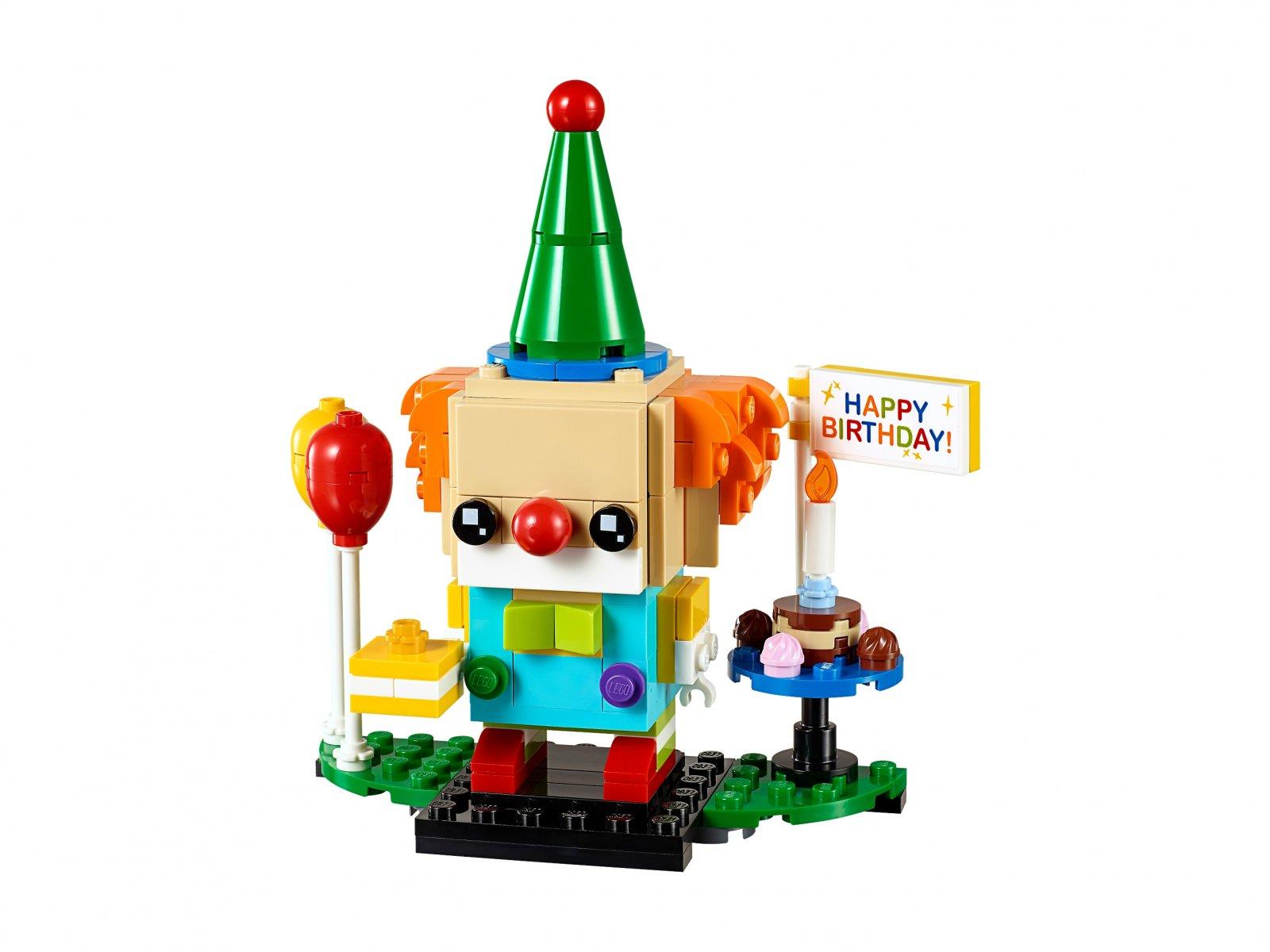 LEGO BrickHeadz Klaun z urodzinowego przyjęcia