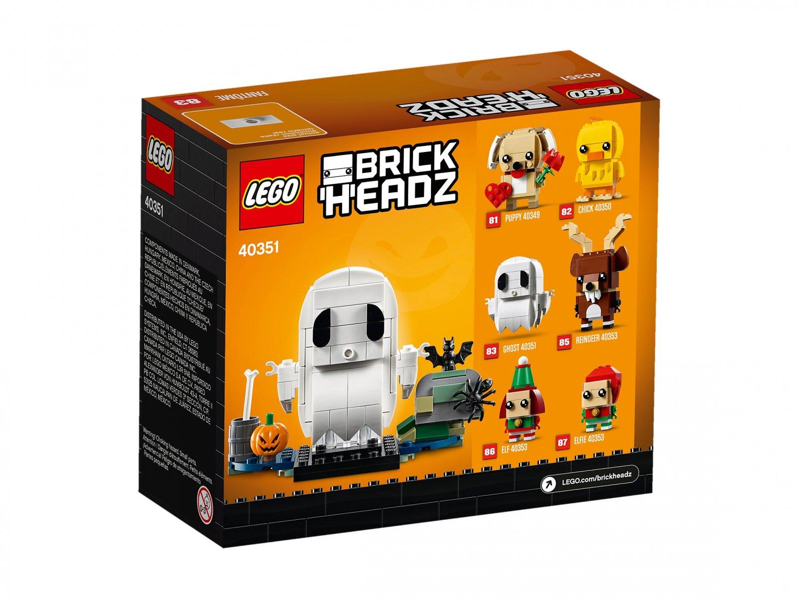LEGO 40351 Duch na Halloween