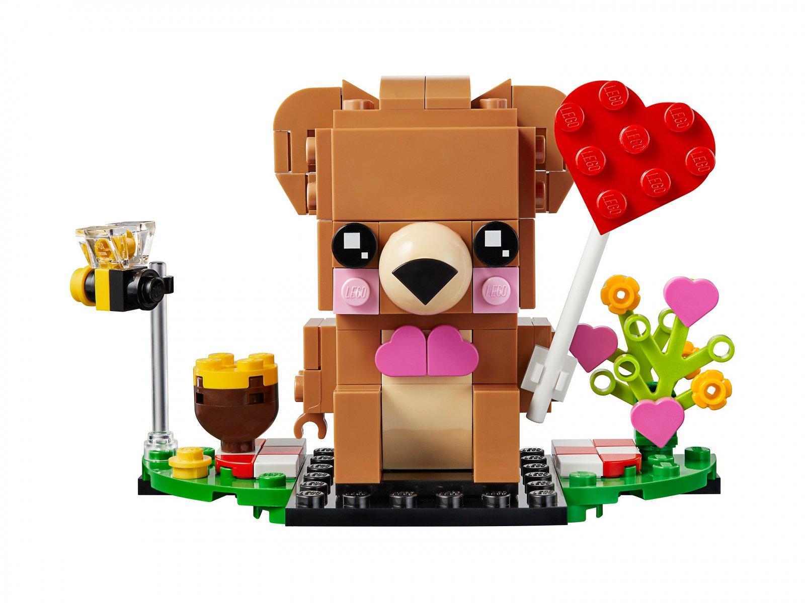 LEGO 40379 BrickHeadz Walentynkowy miś