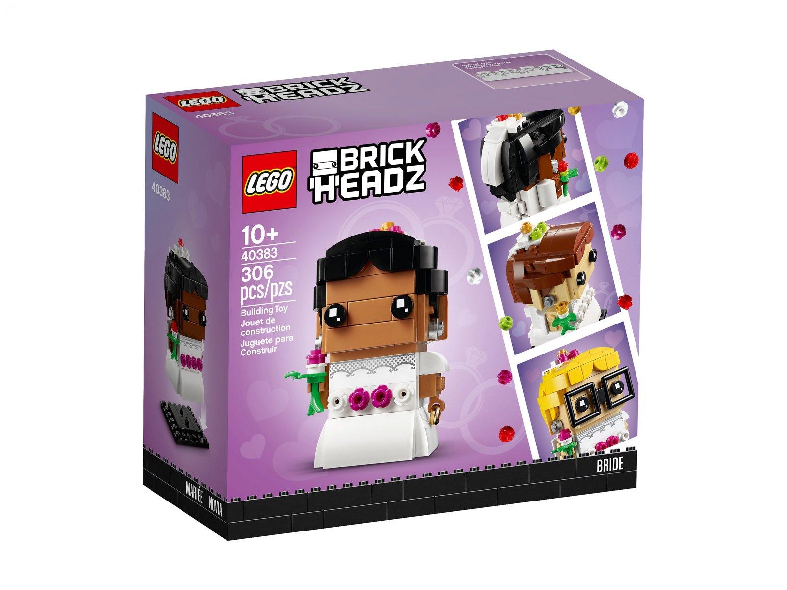 LEGO 40383 BrickHeadz Panna młoda
