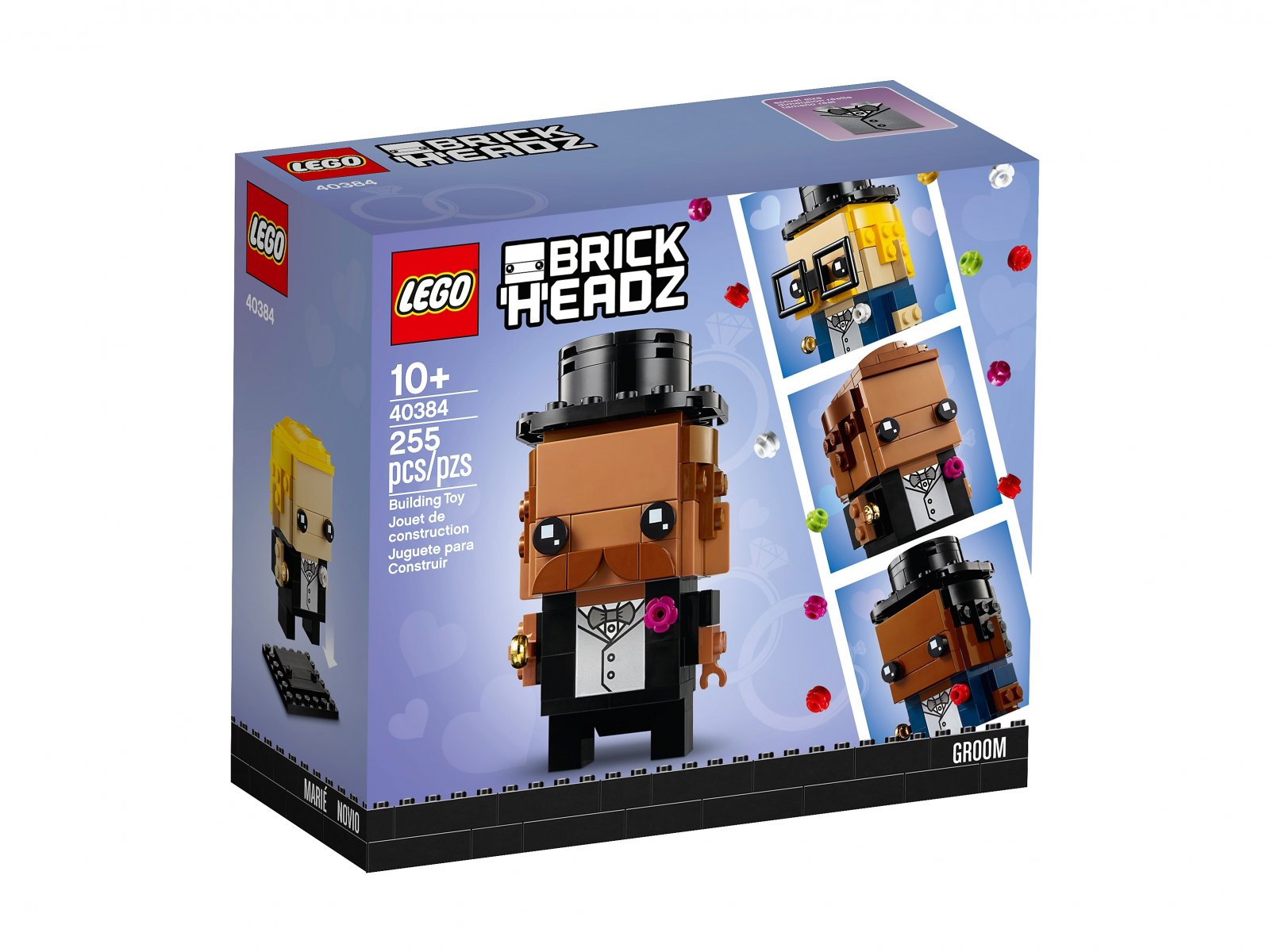 LEGO BrickHeadz 40384 Pan młody