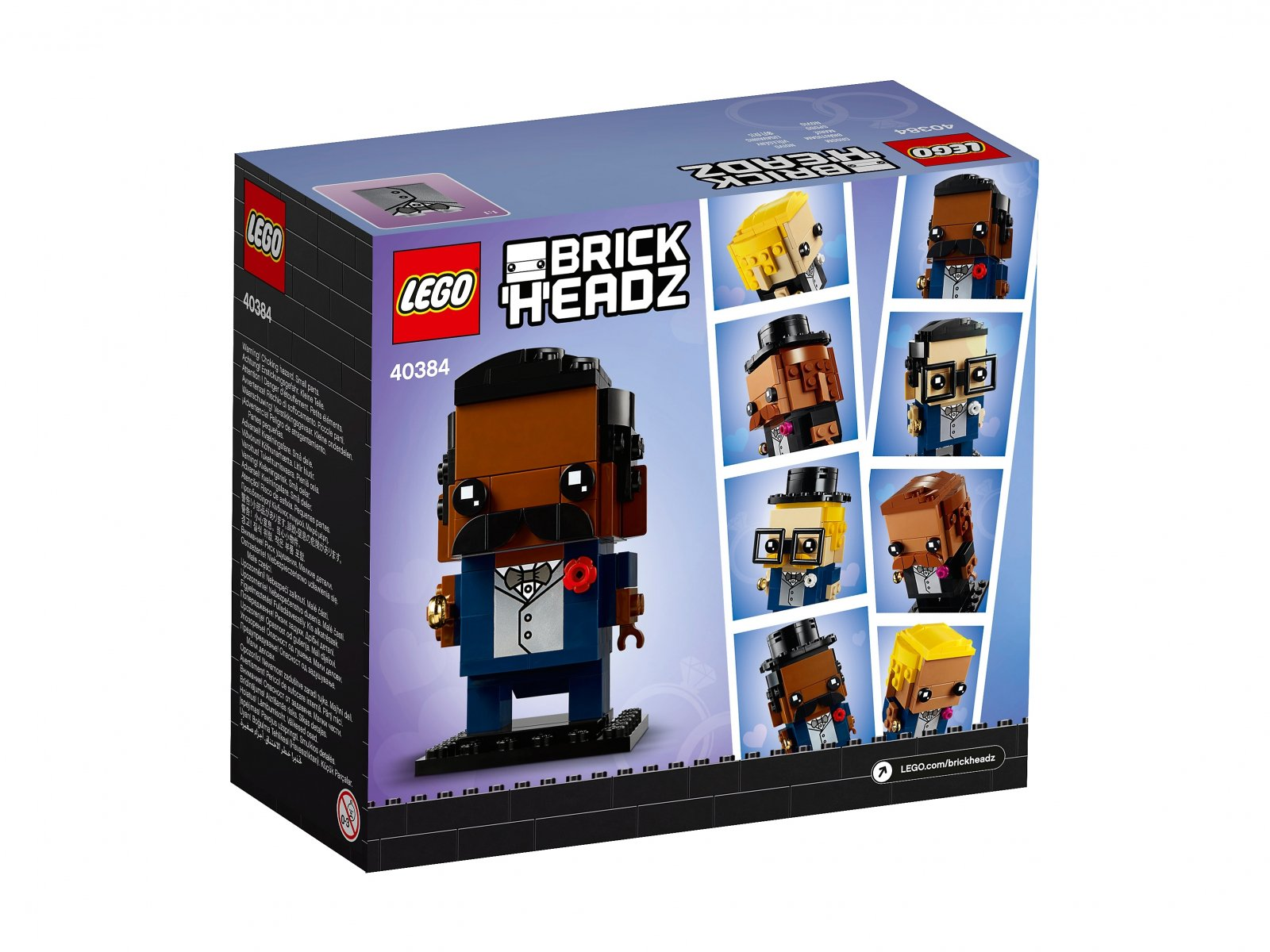 LEGO 40384 Pan młody