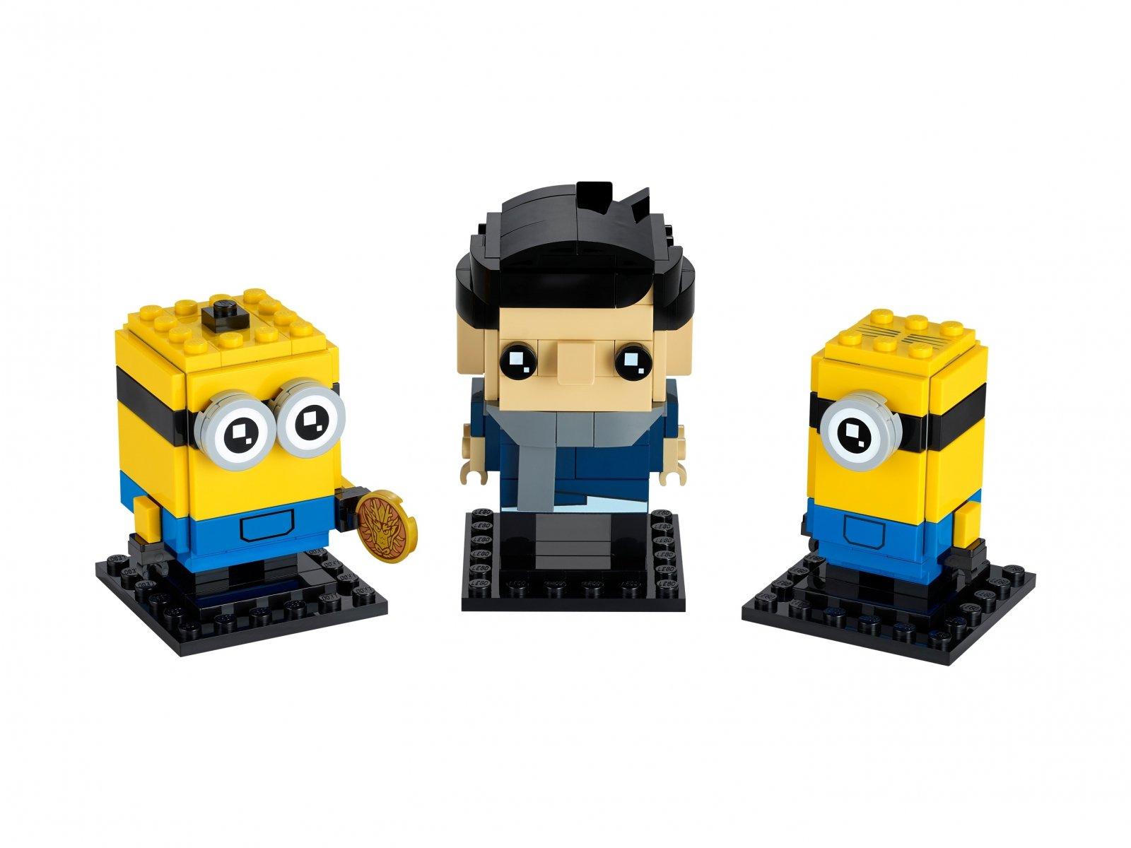 LEGO BrickHeadz Gru, Stuart i Otto 40420