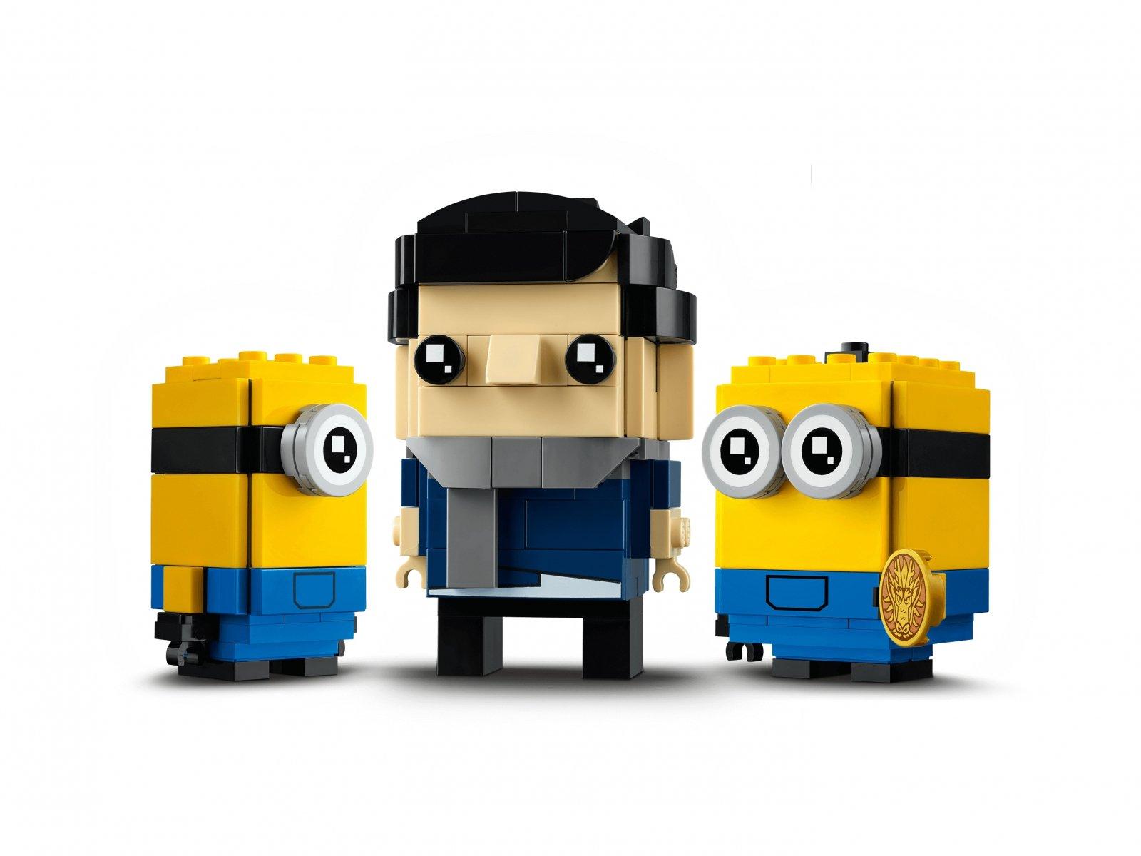 LEGO BrickHeadz 40420 Gru, Stuart i Otto