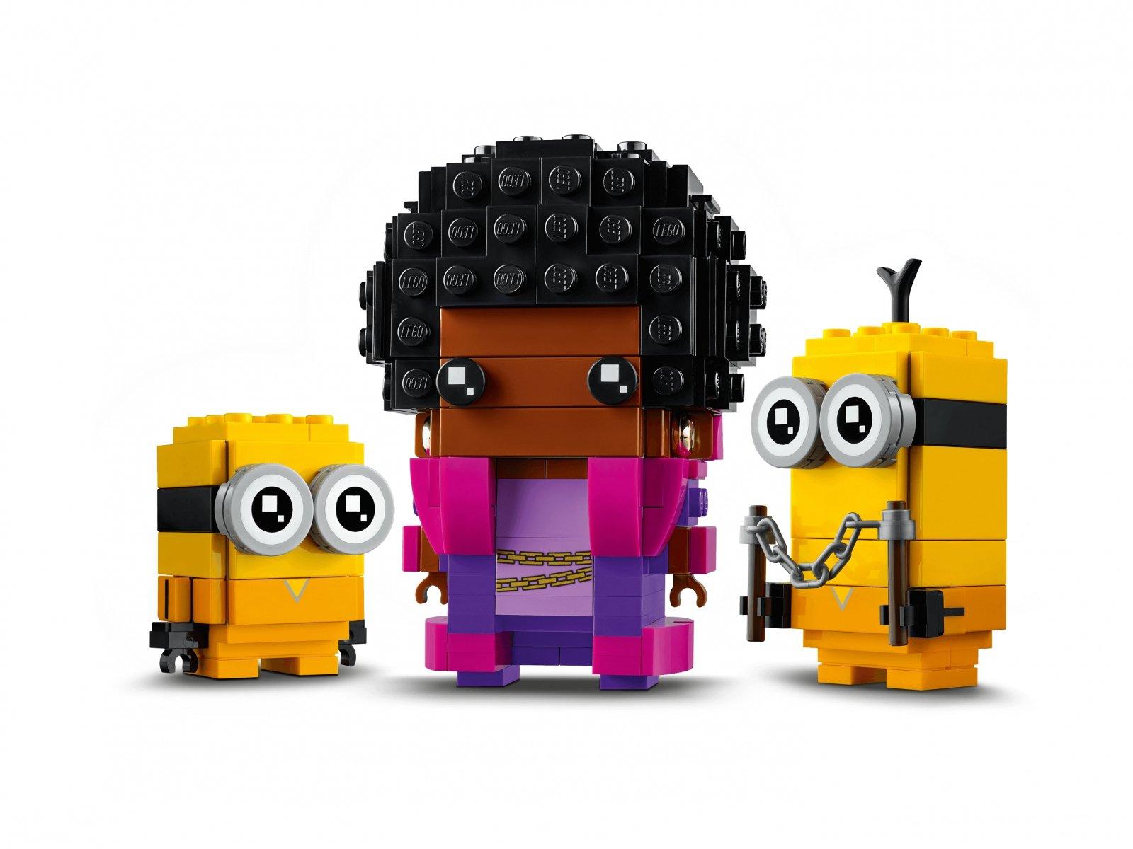 LEGO BrickHeadz Belle Bottom, Kevin i Bob 40421